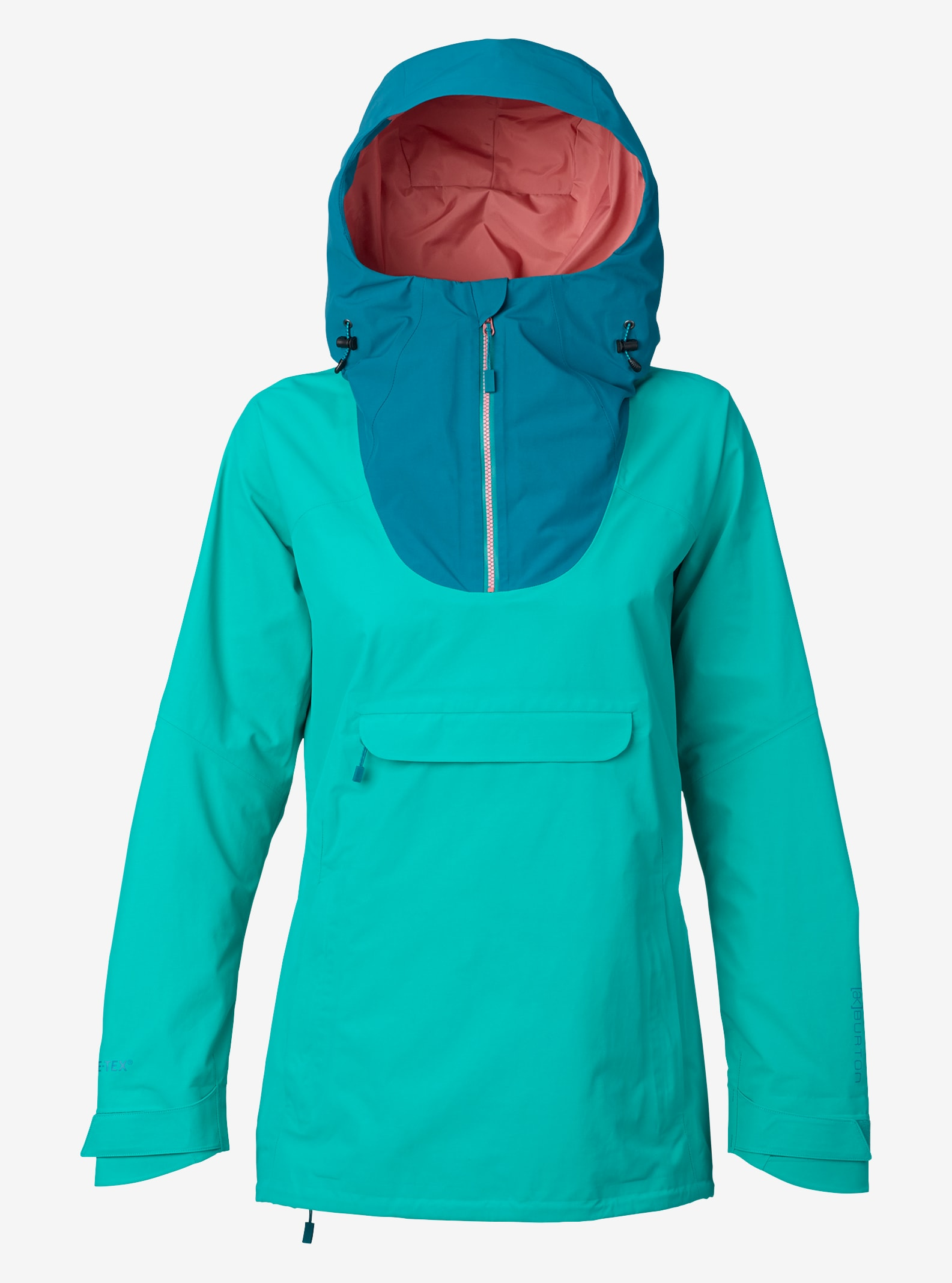 Women's Burton [ak] GORE‑TEX® 2L Elevation Anorak Jacket shown in Spectra / Harbor