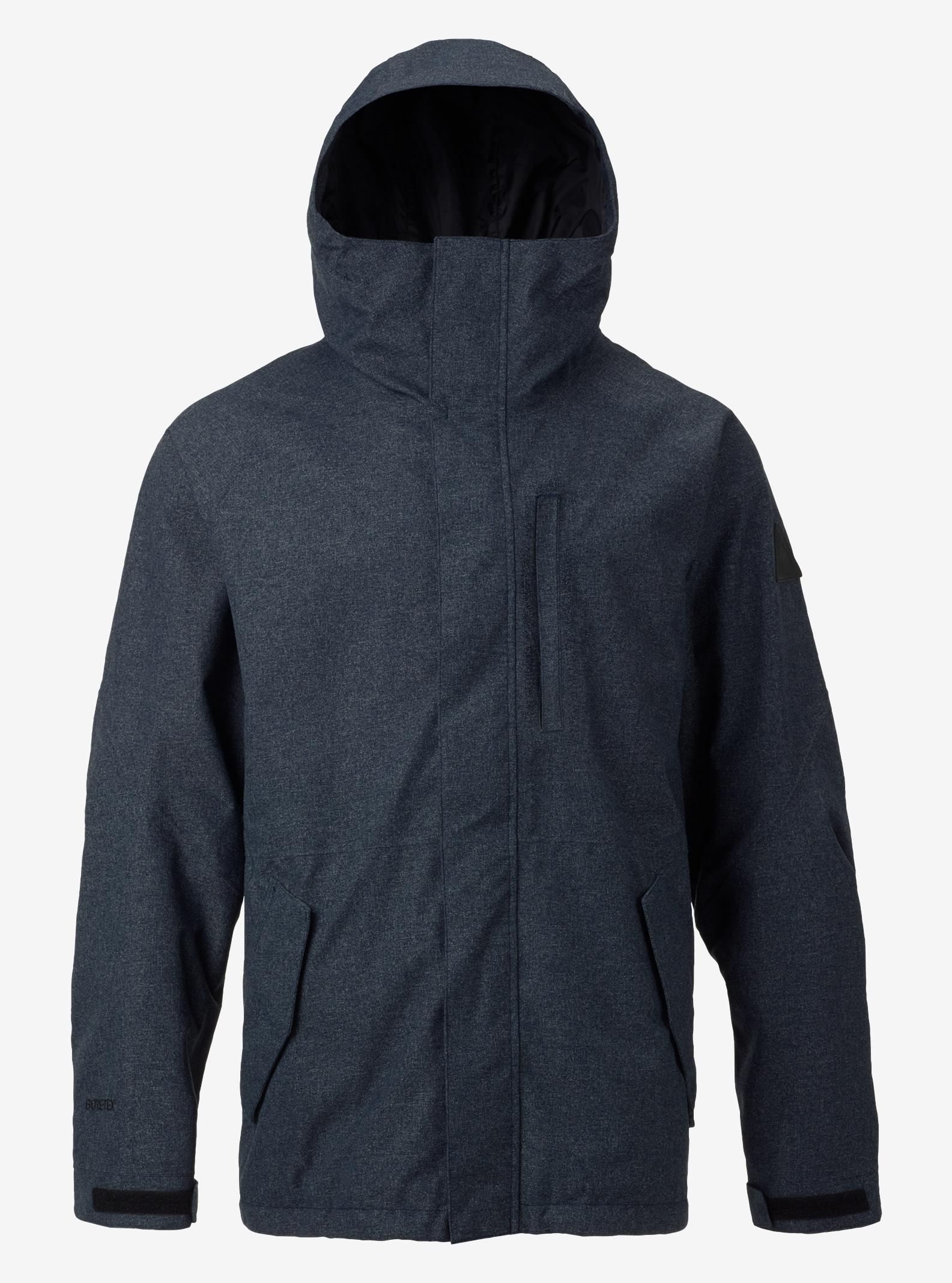Men's Burton Radial Jacket shown in Black Iris