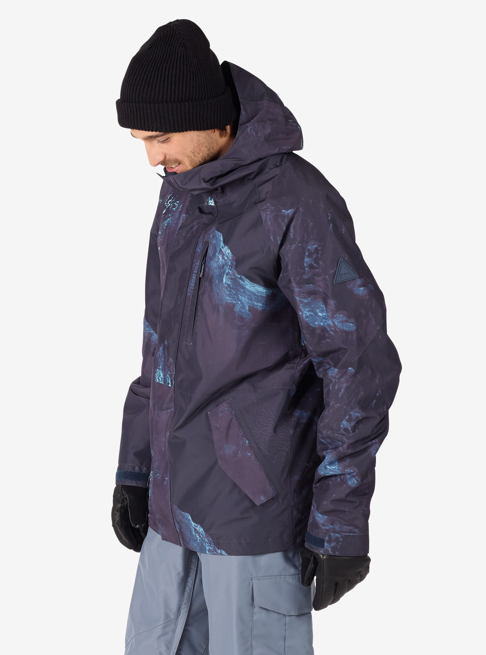 Men's Burton Radial Insulated Jacket shown in Nix Olympica
