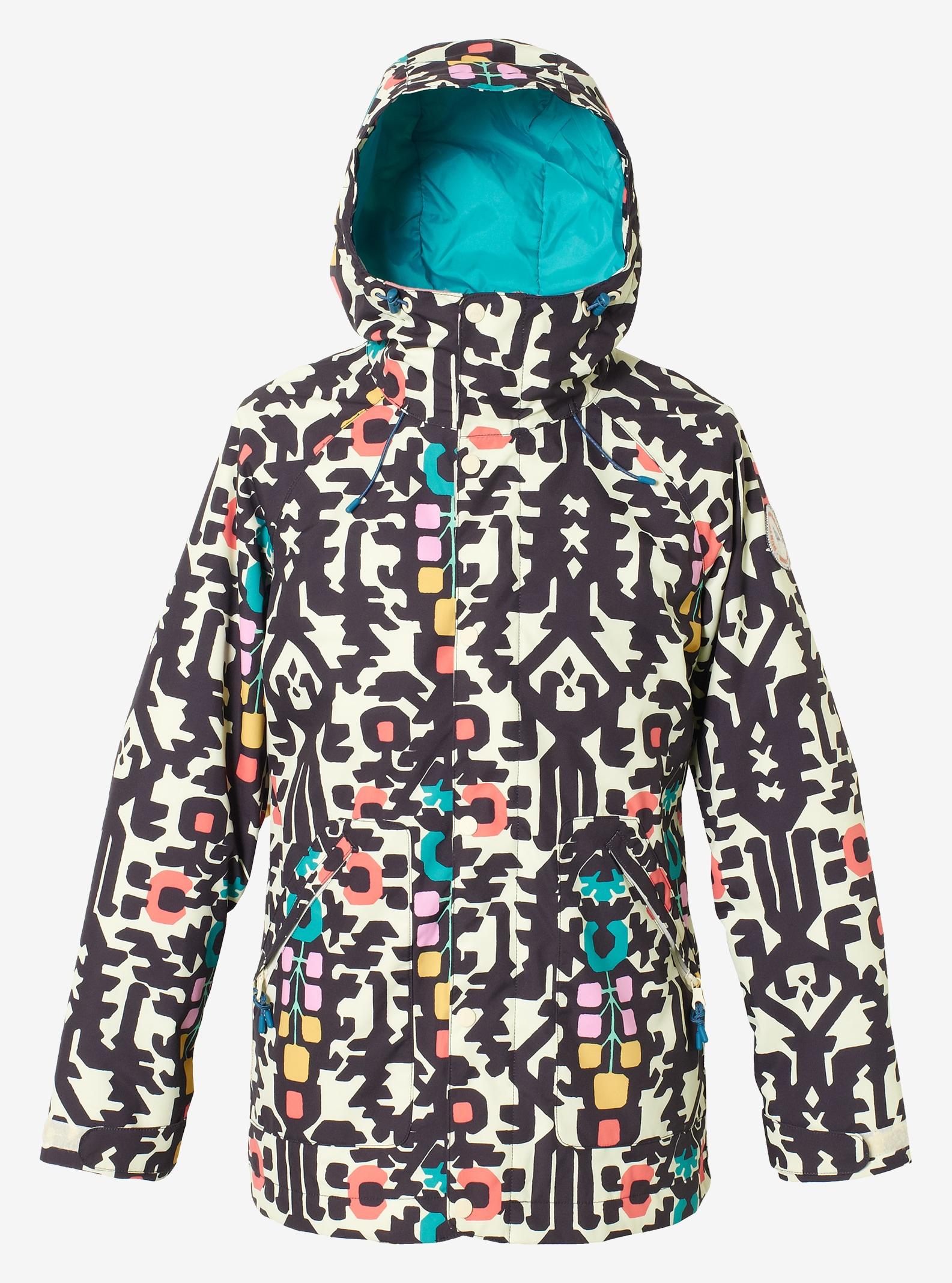 Women's Burton Eastfall Jacket shown in Young Folks / Everglade
