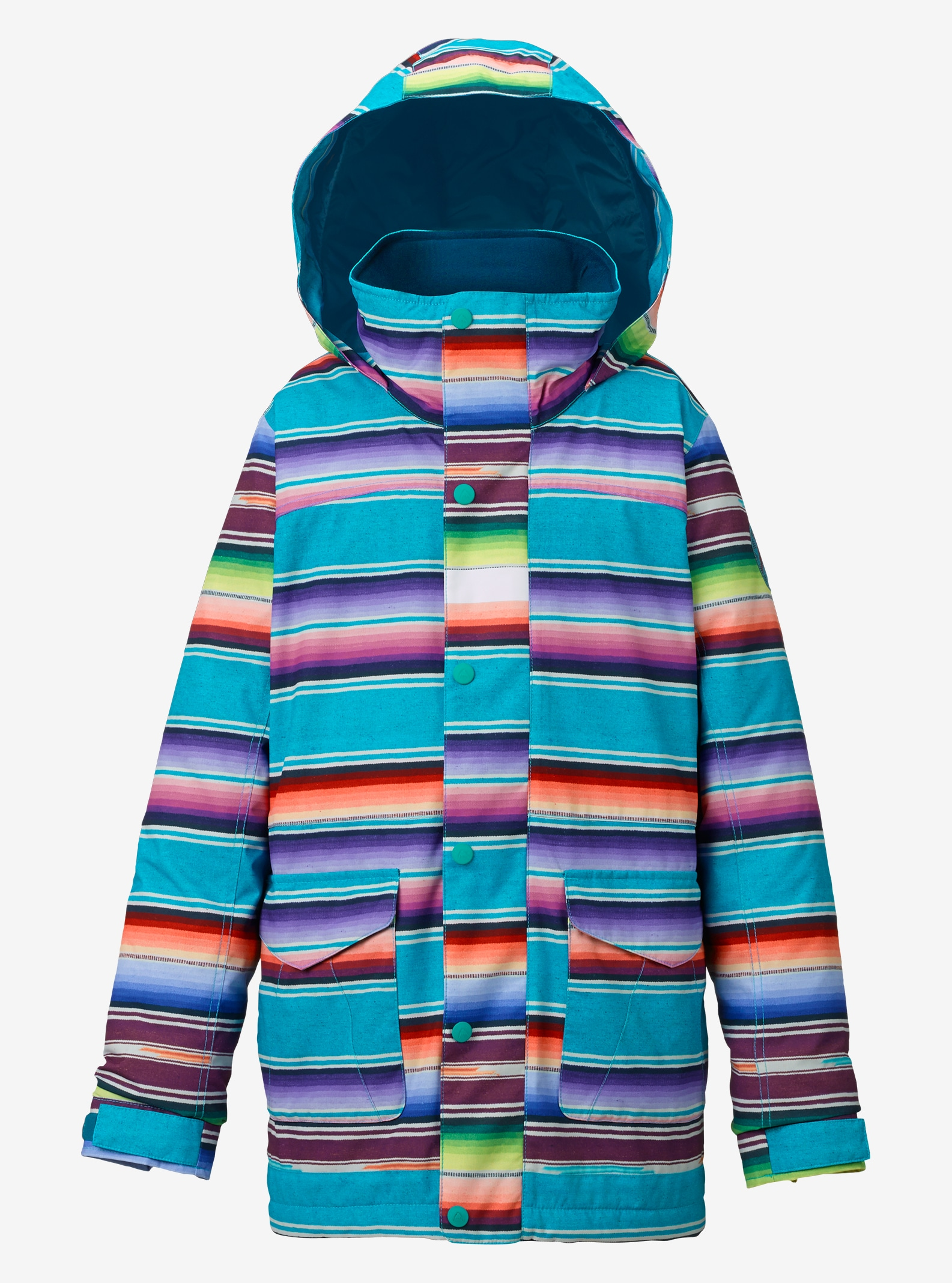 Girls' Burton Elstar Jacket shown in Mijita Stripe