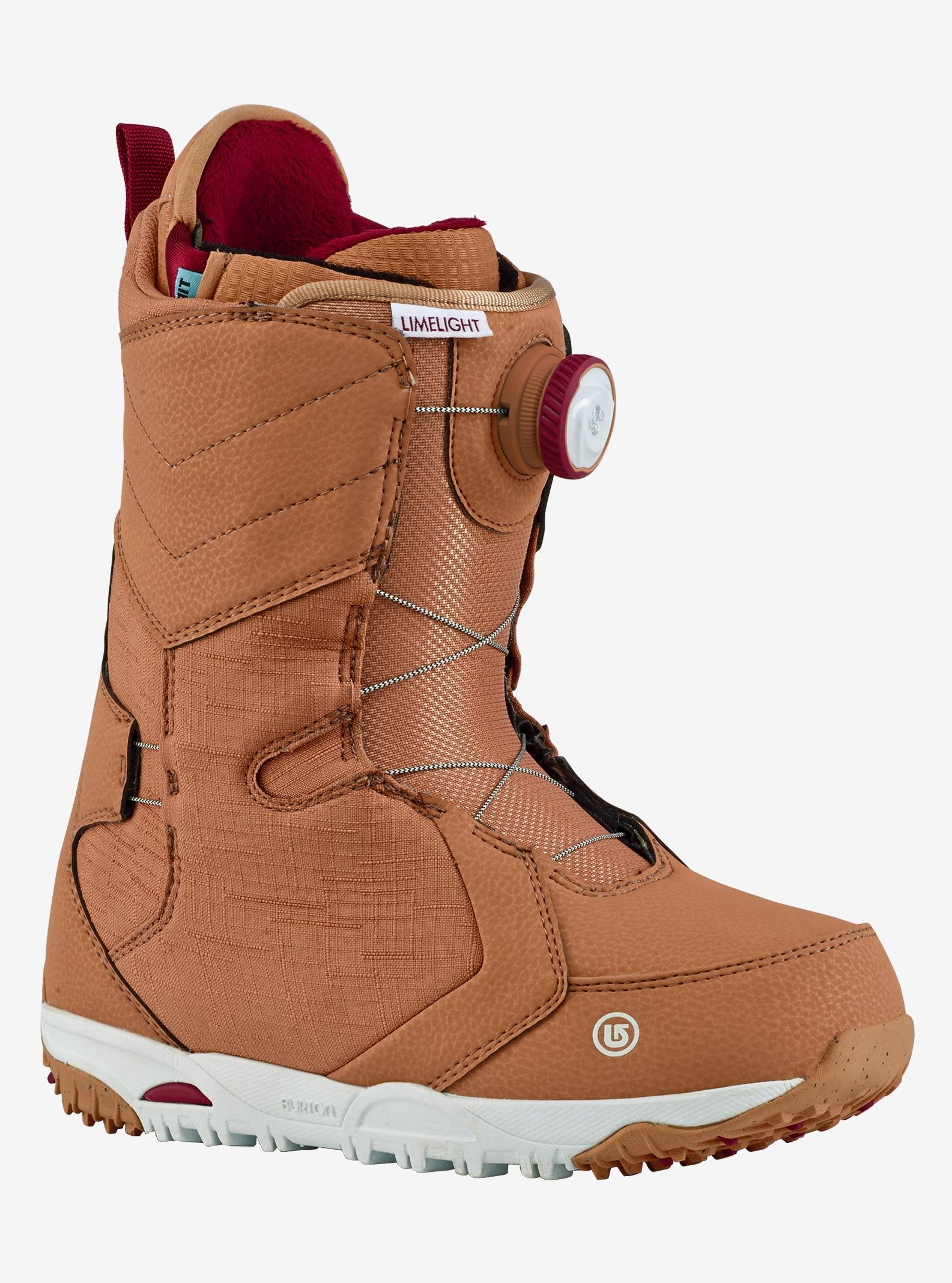 Women's Burton Limelight Boa® Snowboard Boot shown in Blush
