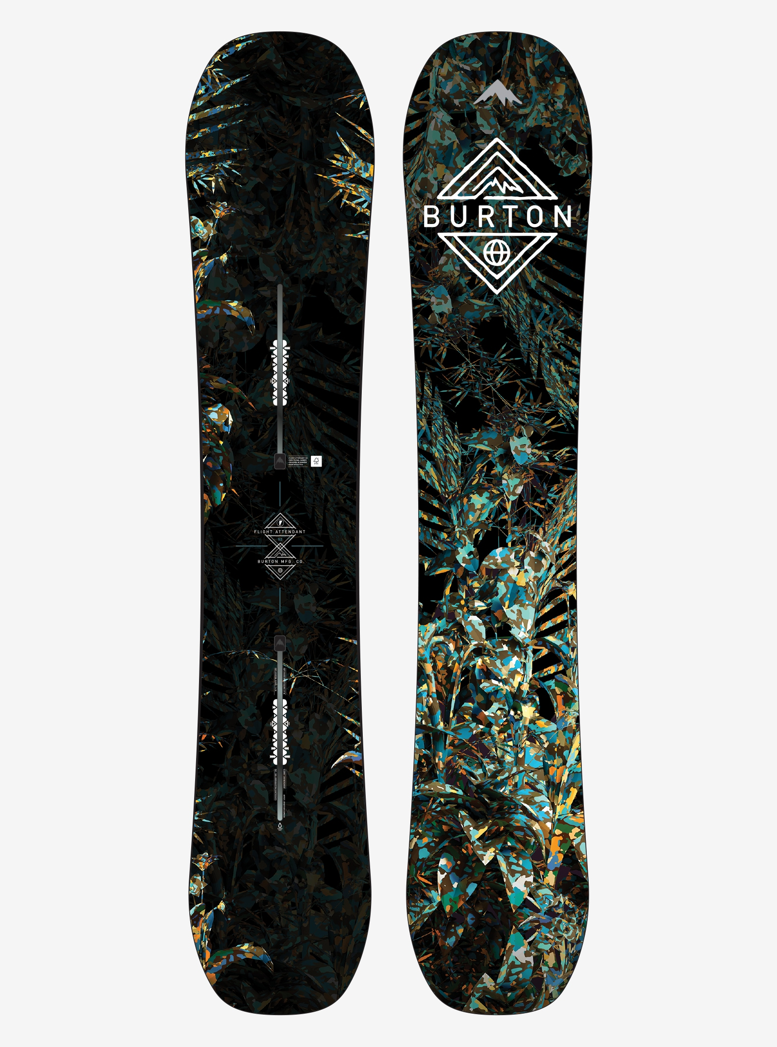 Men's Burton Flight Attendant Snowboard shown in 152