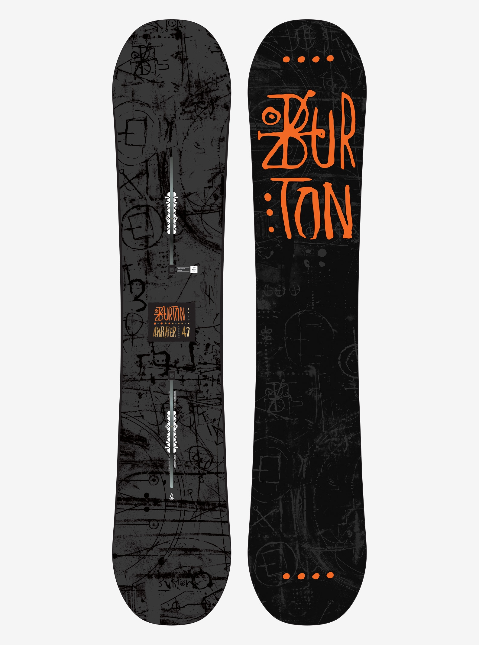 Men's Burton Amplifier Snowboard shown in 147