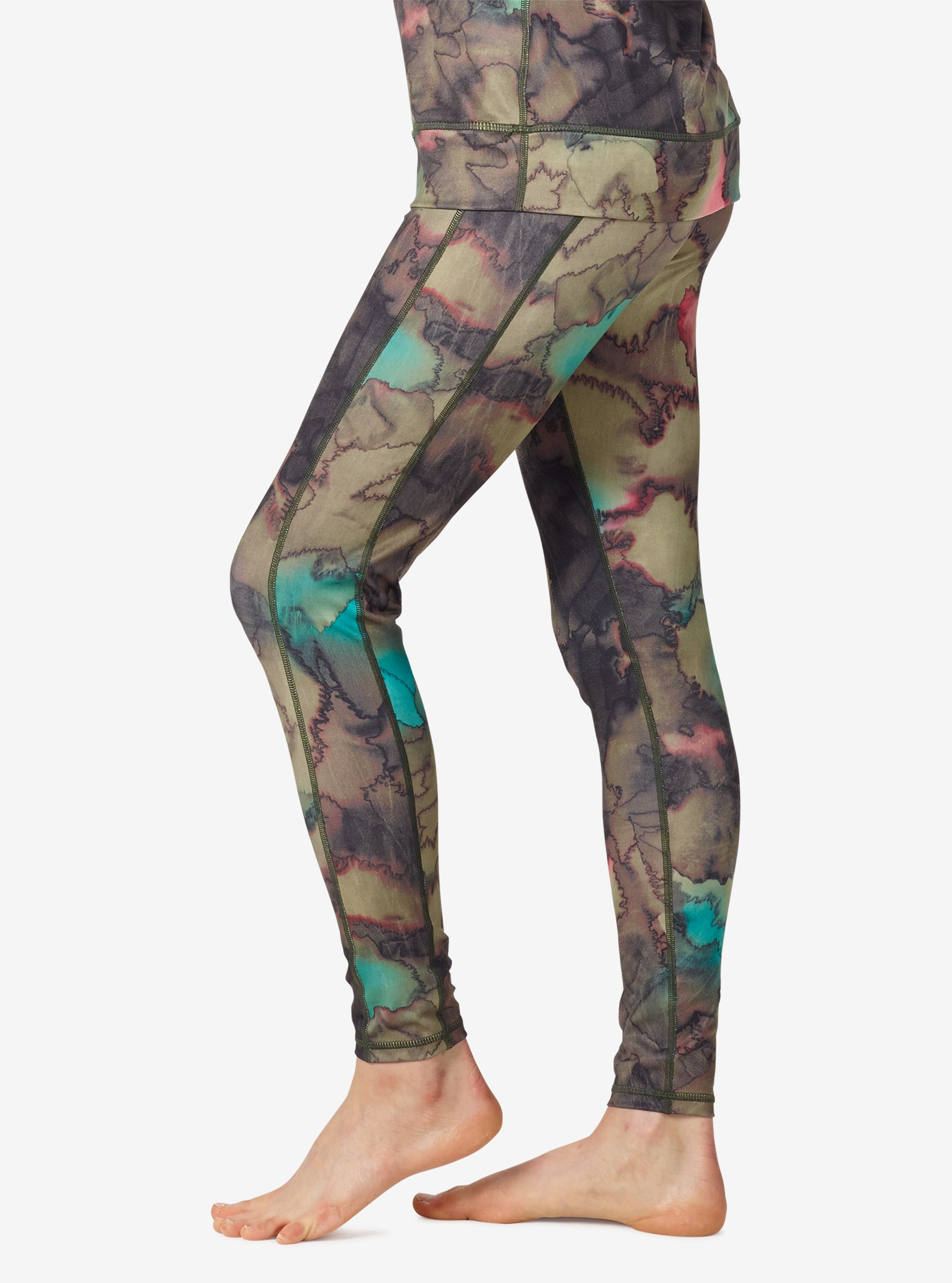 Women's Burton [ak] Power Stretch® Pant shown in Tea Camo