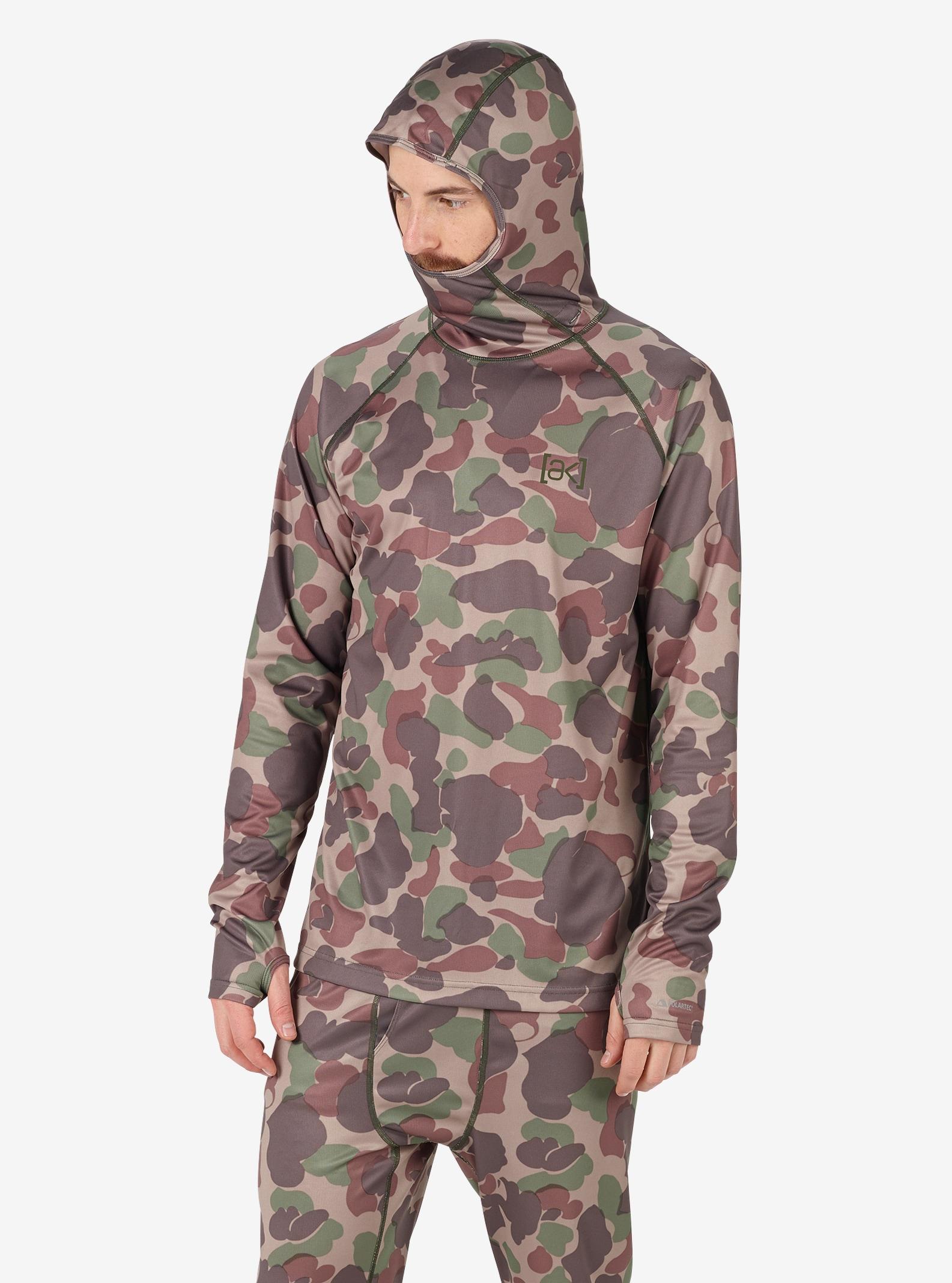 Men's Burton [ak] Power Grid® Hood shown in Kodiak Camo