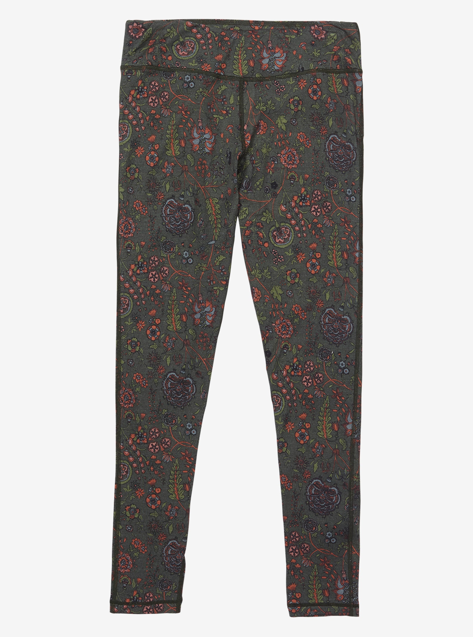Women's Burton Midweight Base Layer Merino Pant shown in Garden Print