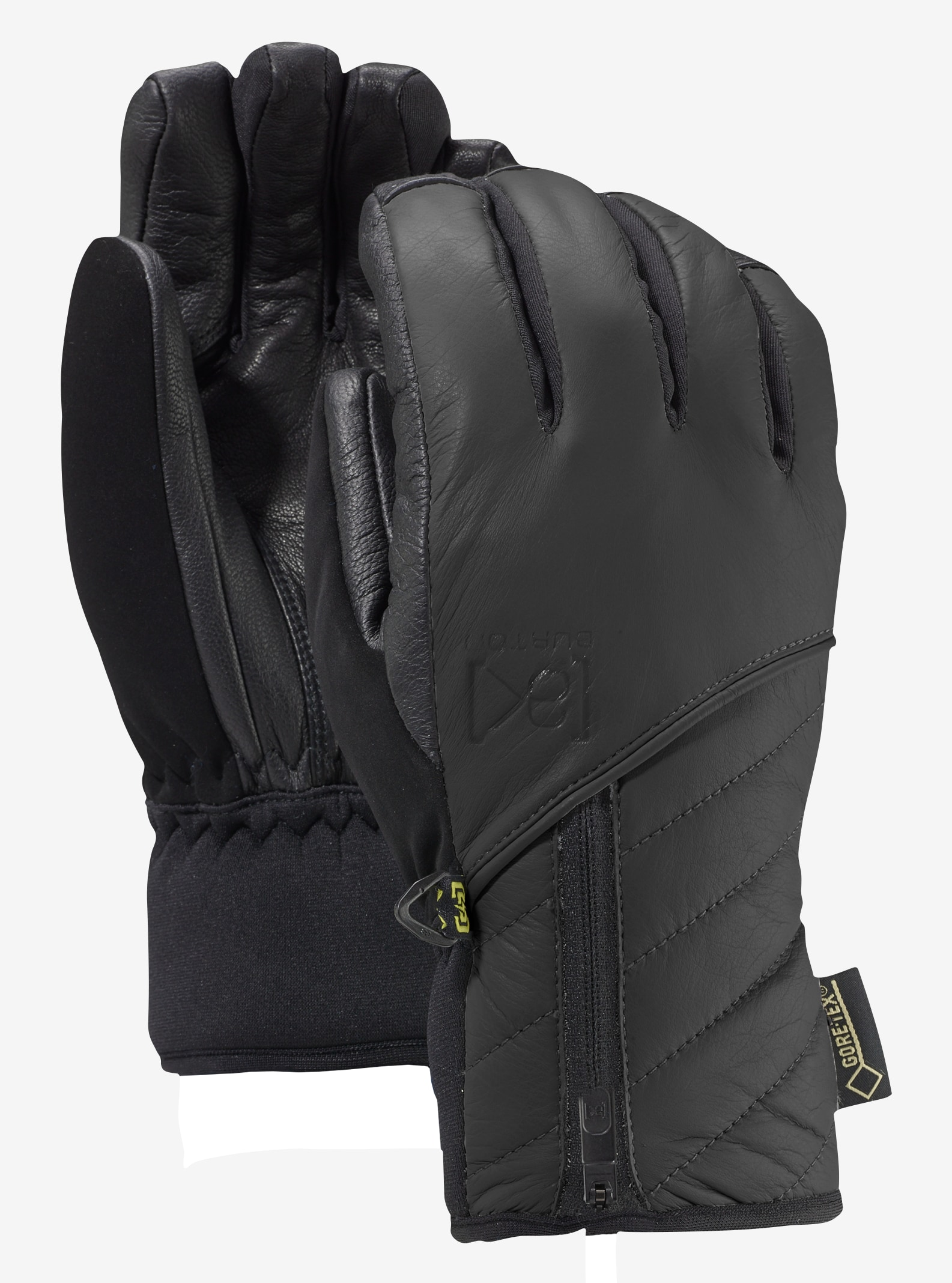 Women's Burton [ak] GORE‑TEX® Guide Glove shown in True Black