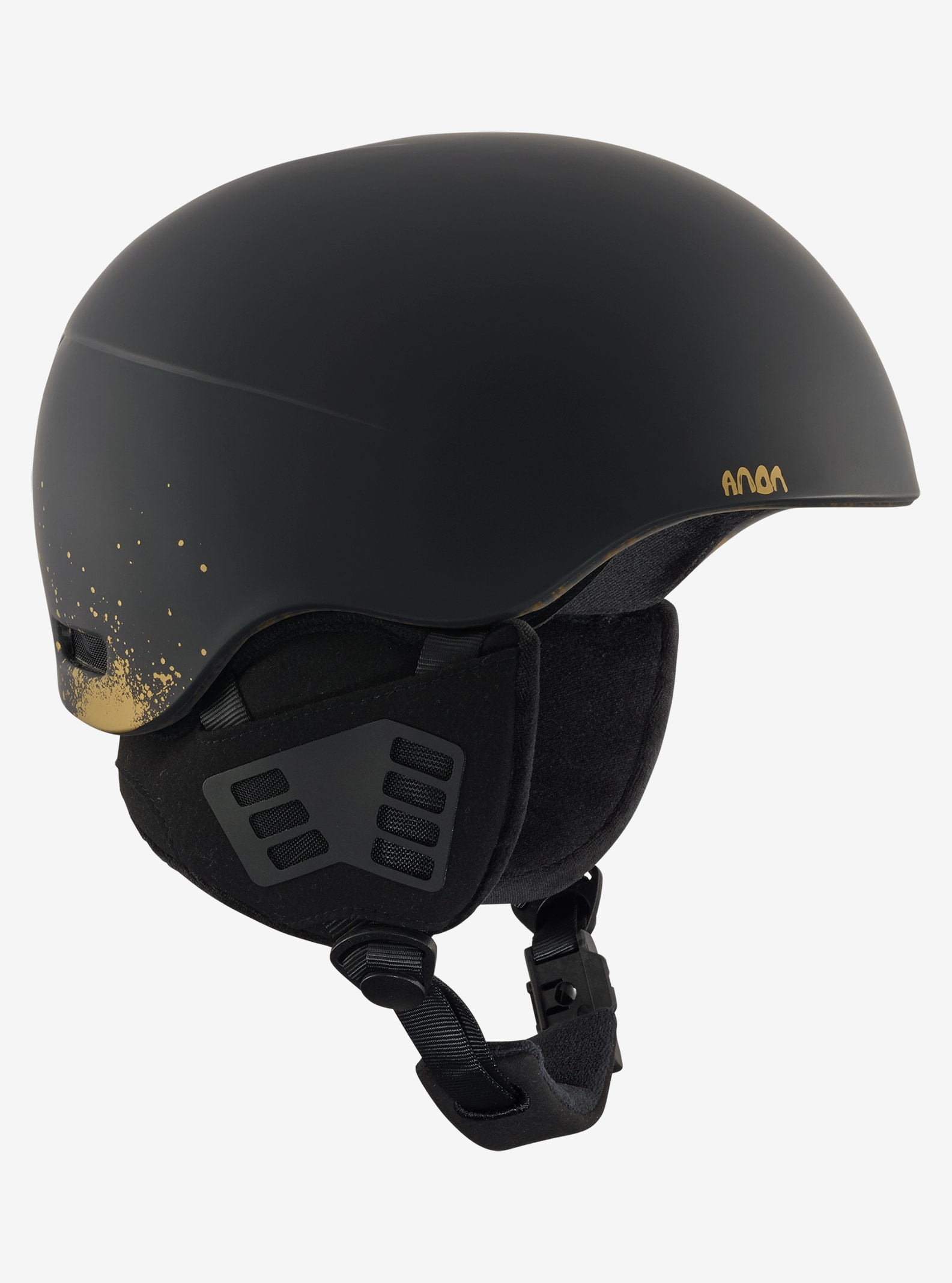 Men's Anon Helo 2.0 Helmet shown in Skully Black