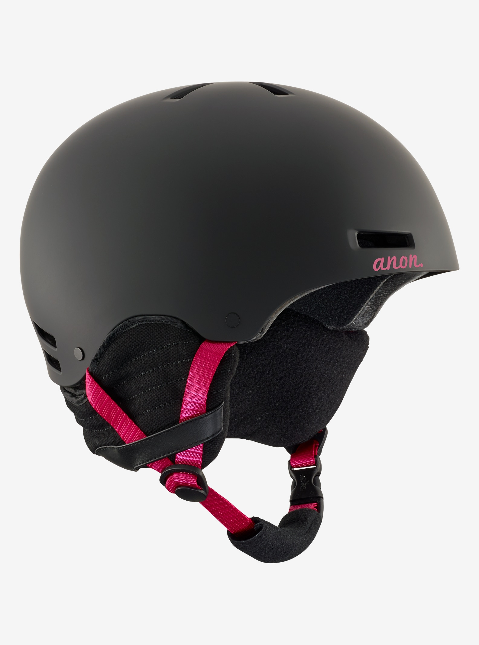Women's Anon Greta Helmet shown in Black Cherry