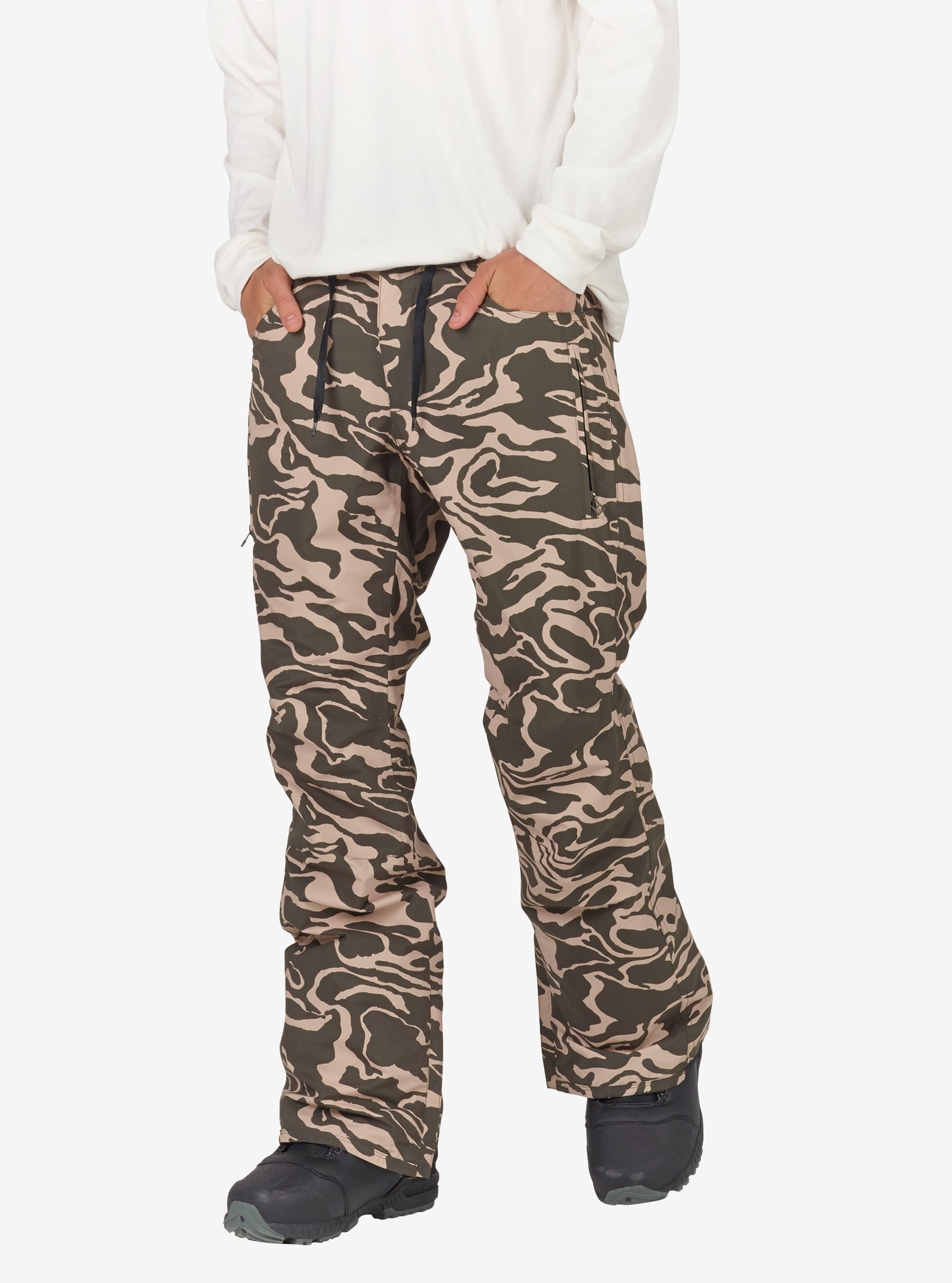 Men's Analog Thatcher Slim Pant shown in Forest Noodle Camo