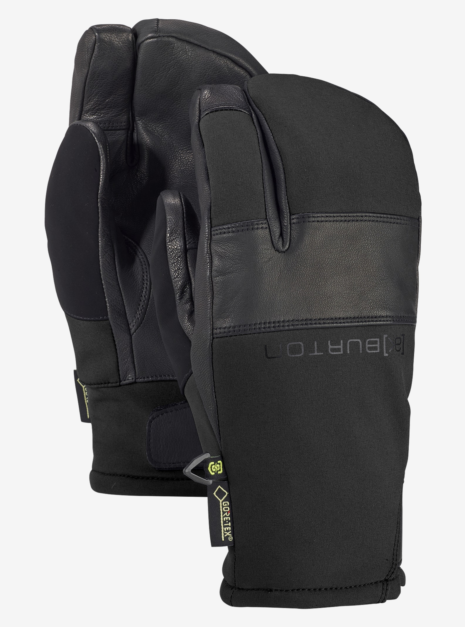 Men's Burton [ak] GORE‑TEX® Clutch Mitt shown in True Black