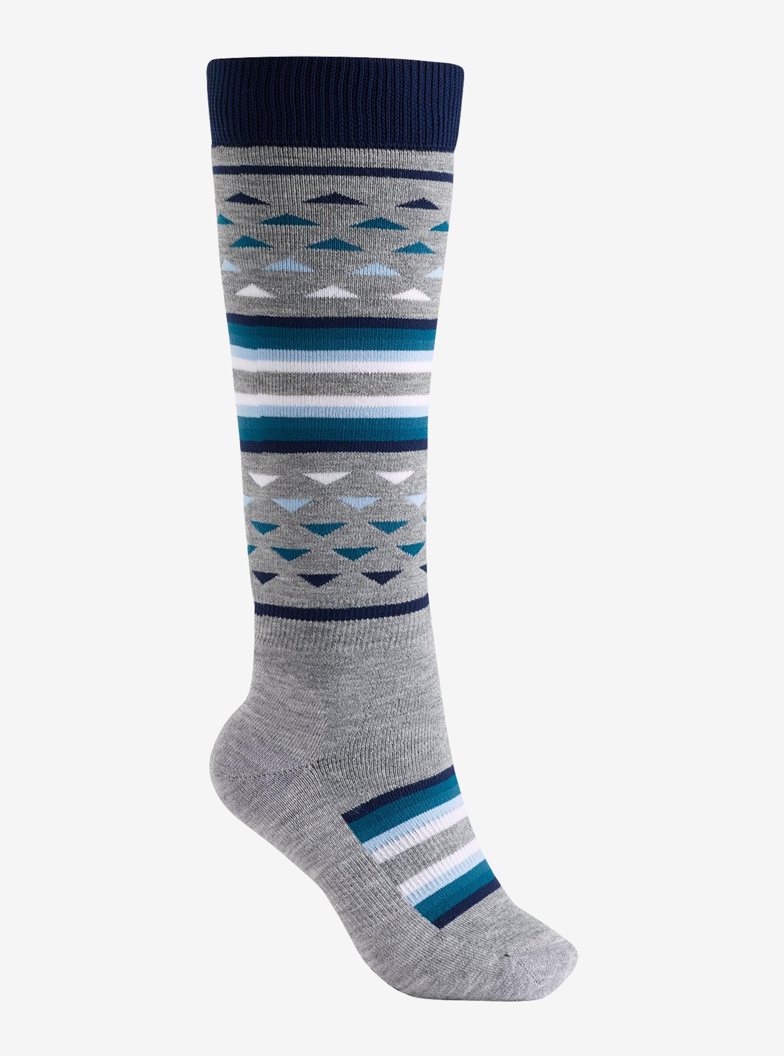 Women's Burton Shadow Sock shown in Mood Indigo