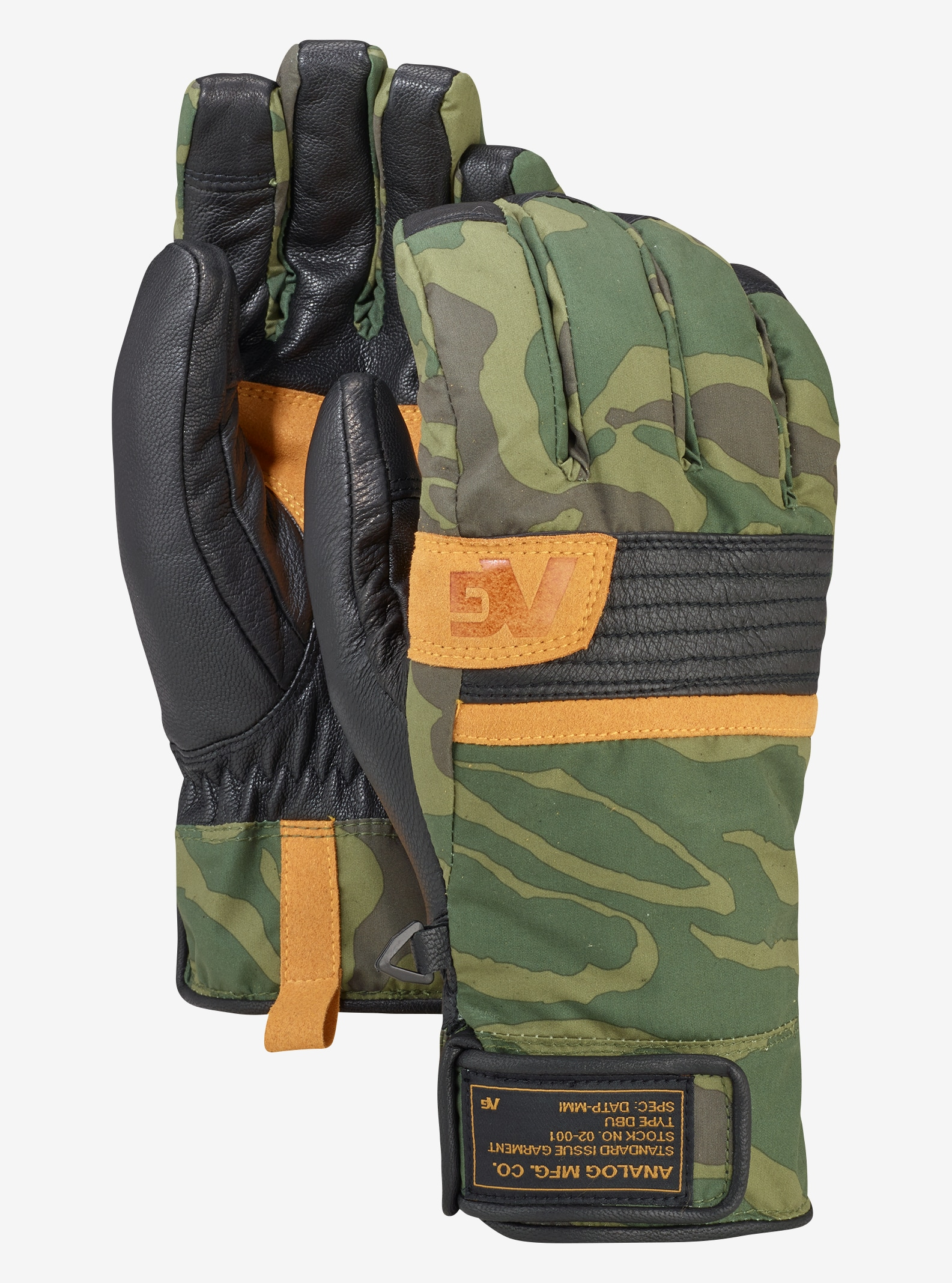Men's Analog Diligent Glove shown in Rifle Noodle Camo