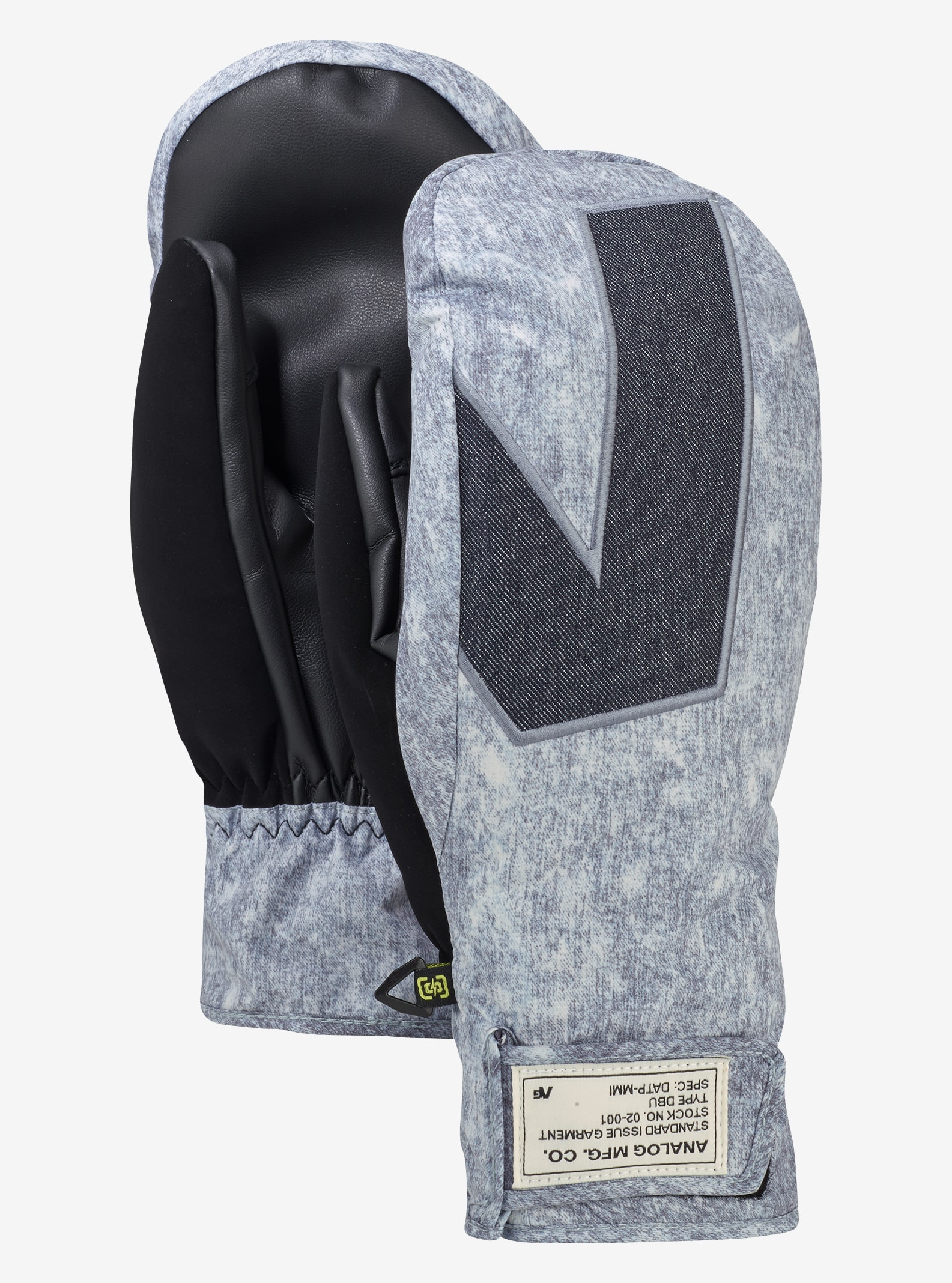 Men's Analog Gentry Mitt shown in Blackjack Wash / Denim
