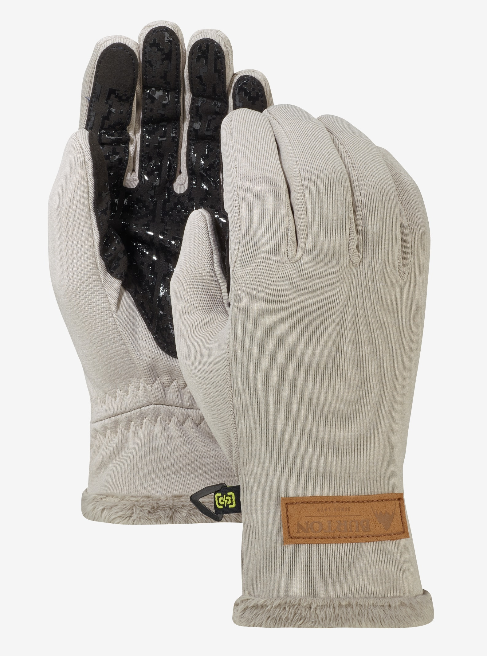 Women's Burton Sapphire Glove shown in Dove Heather