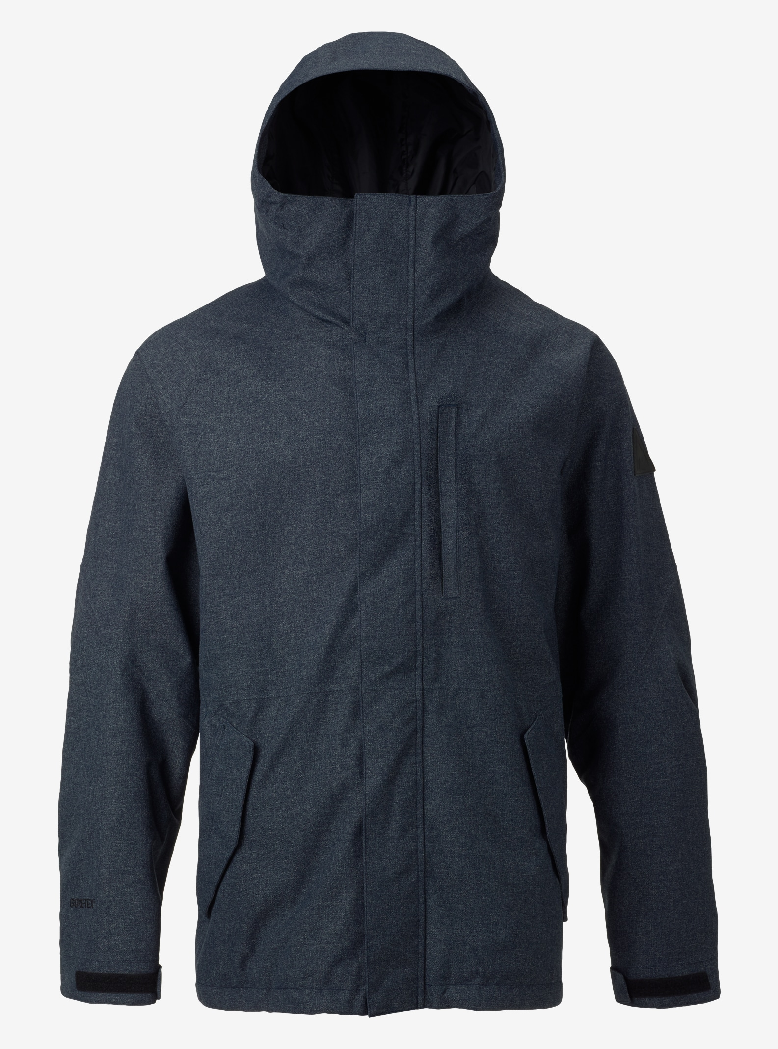 Men's Burton GORE‑TEX® Radial Shell Jacket shown in Black Iris