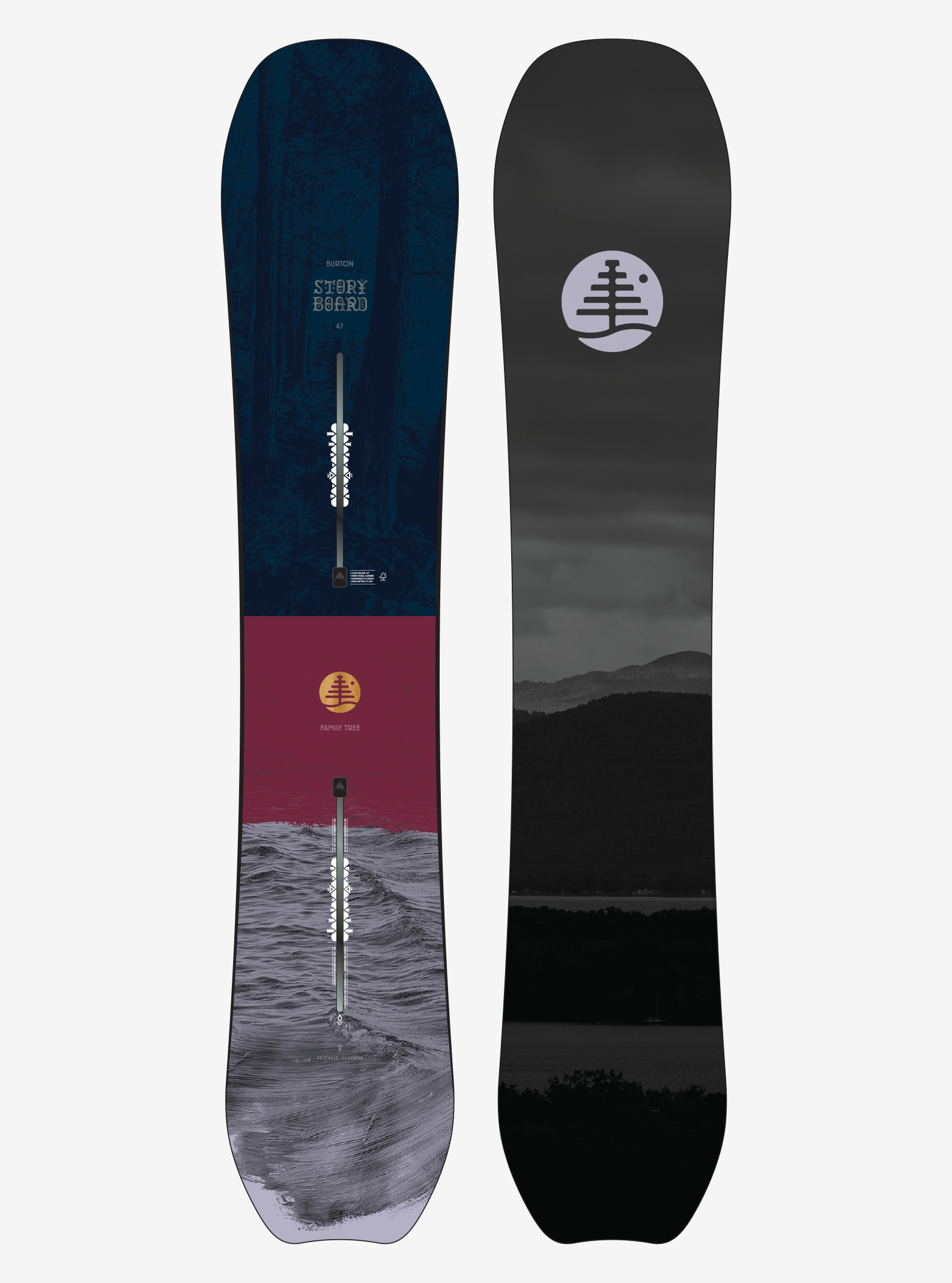 Women's Burton Family Tree Story Board Snowboard shown in 147