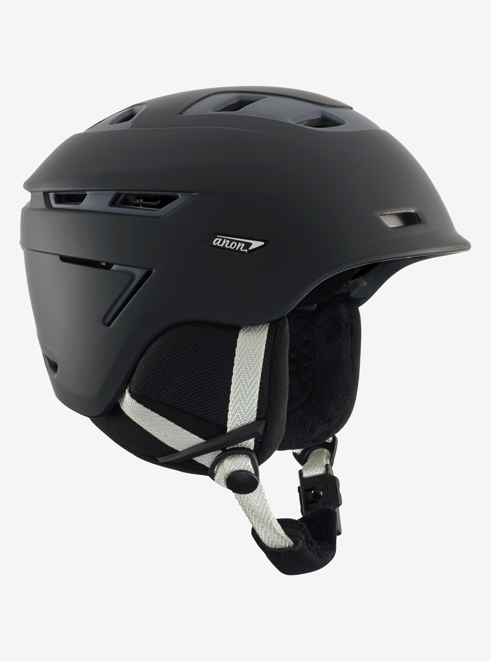 Women's Anon Omega Helmet shown in Black