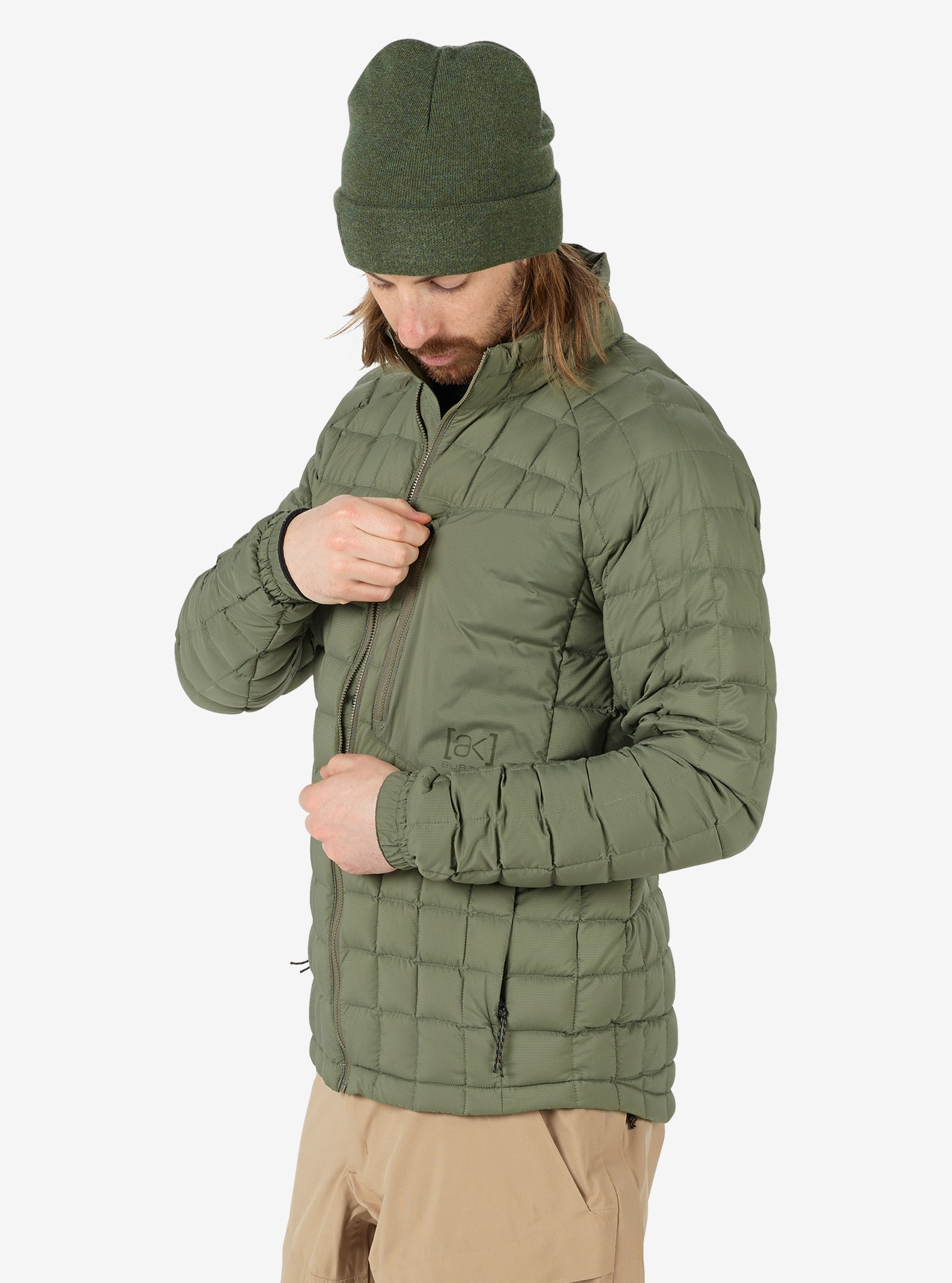 Men's Burton [ak] BK Lite Insulator shown in Dusty Olive