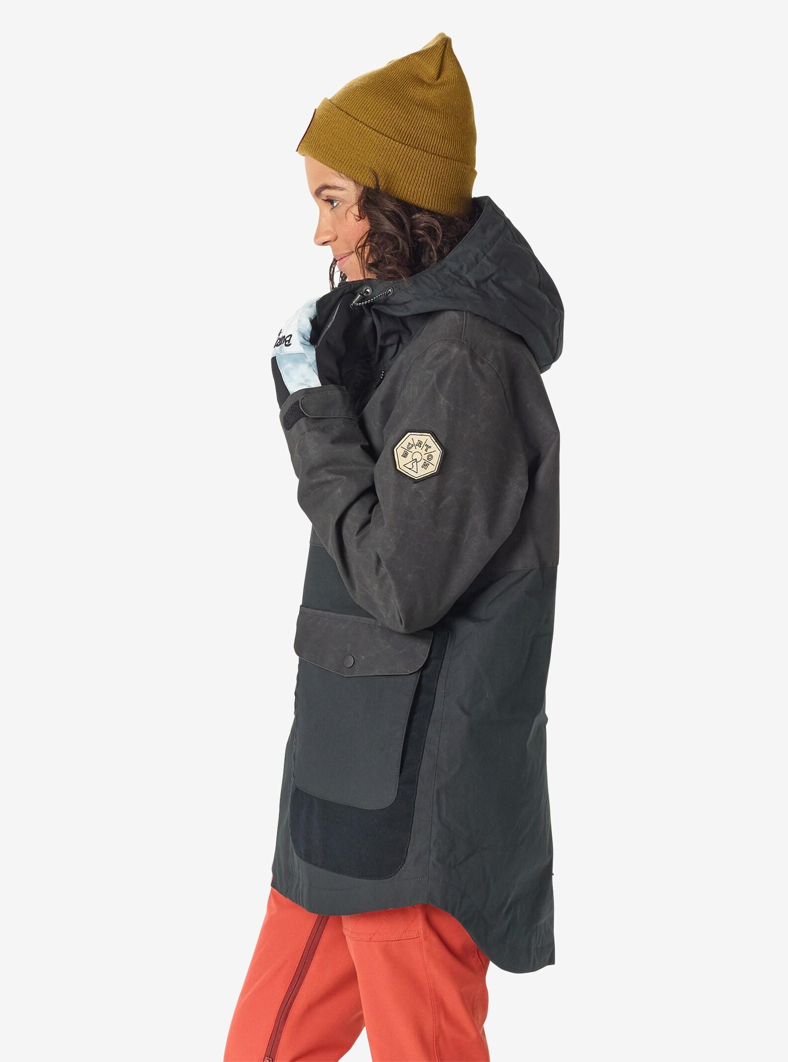 Women's Burton Cerena Parka Jacket shown in True Black