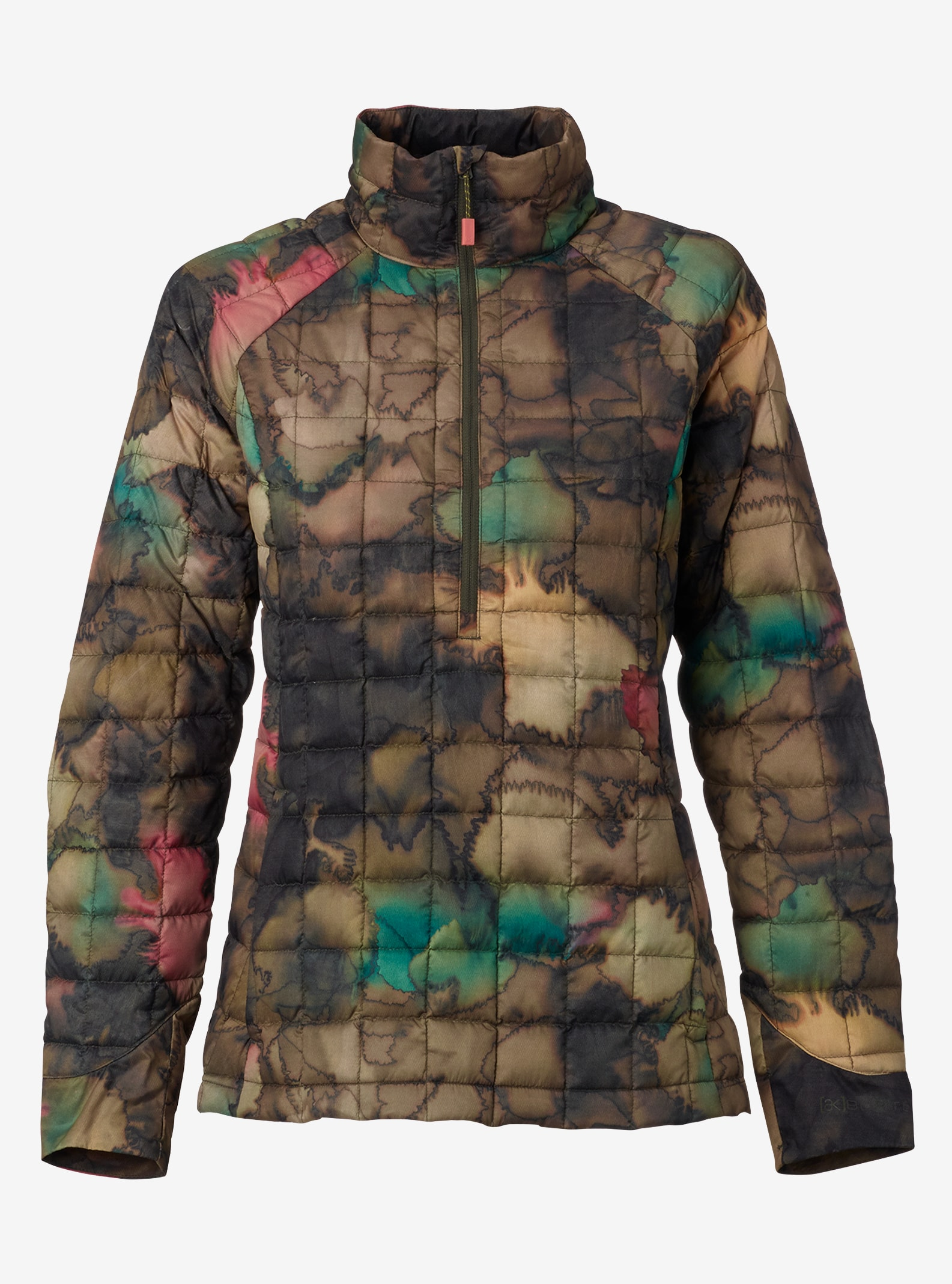 Women's Burton [ak] Baker Down LT Jacket shown in Tea Camo