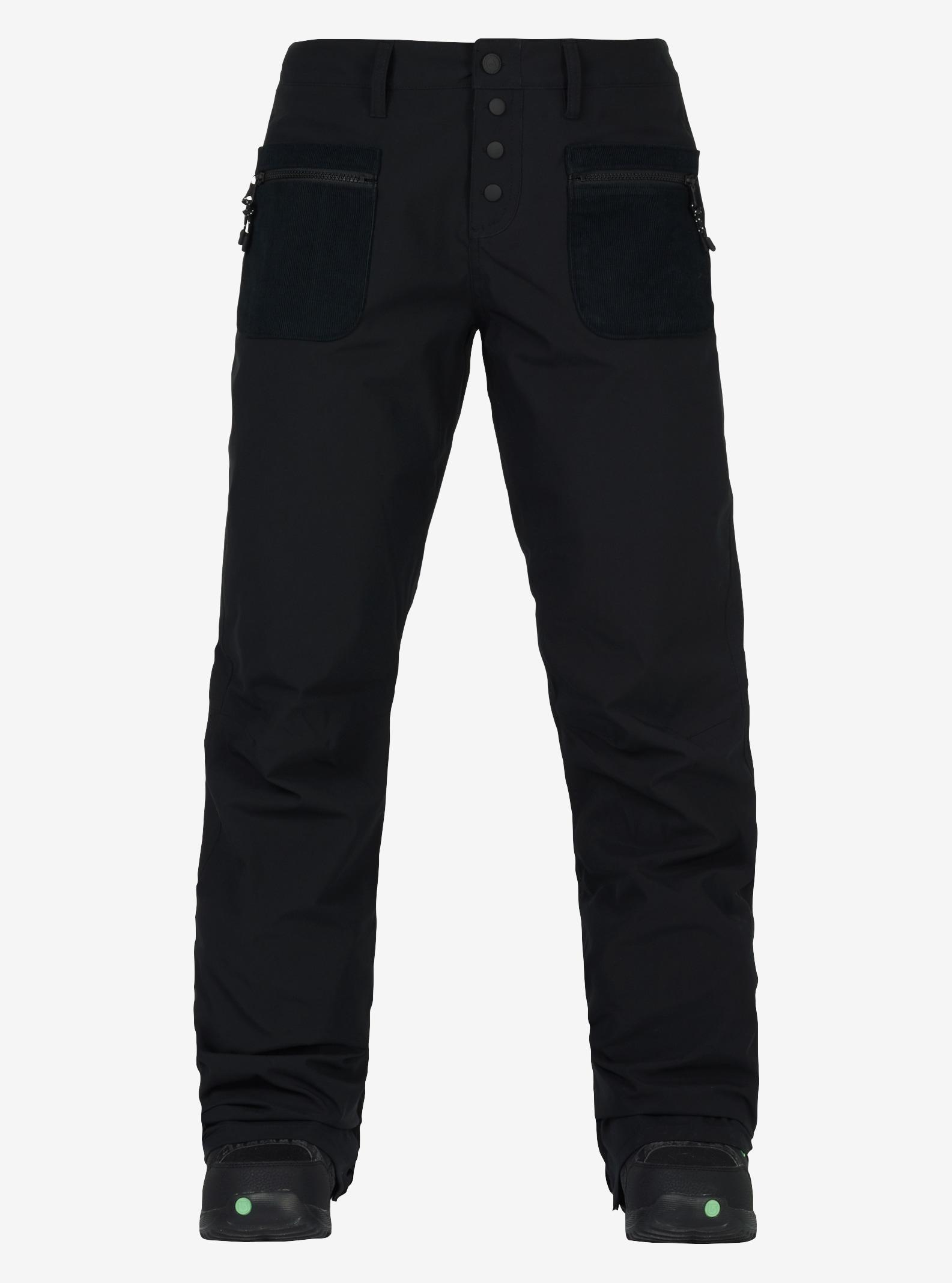 Women's Burton Twenty Ounce Pant shown in True Black