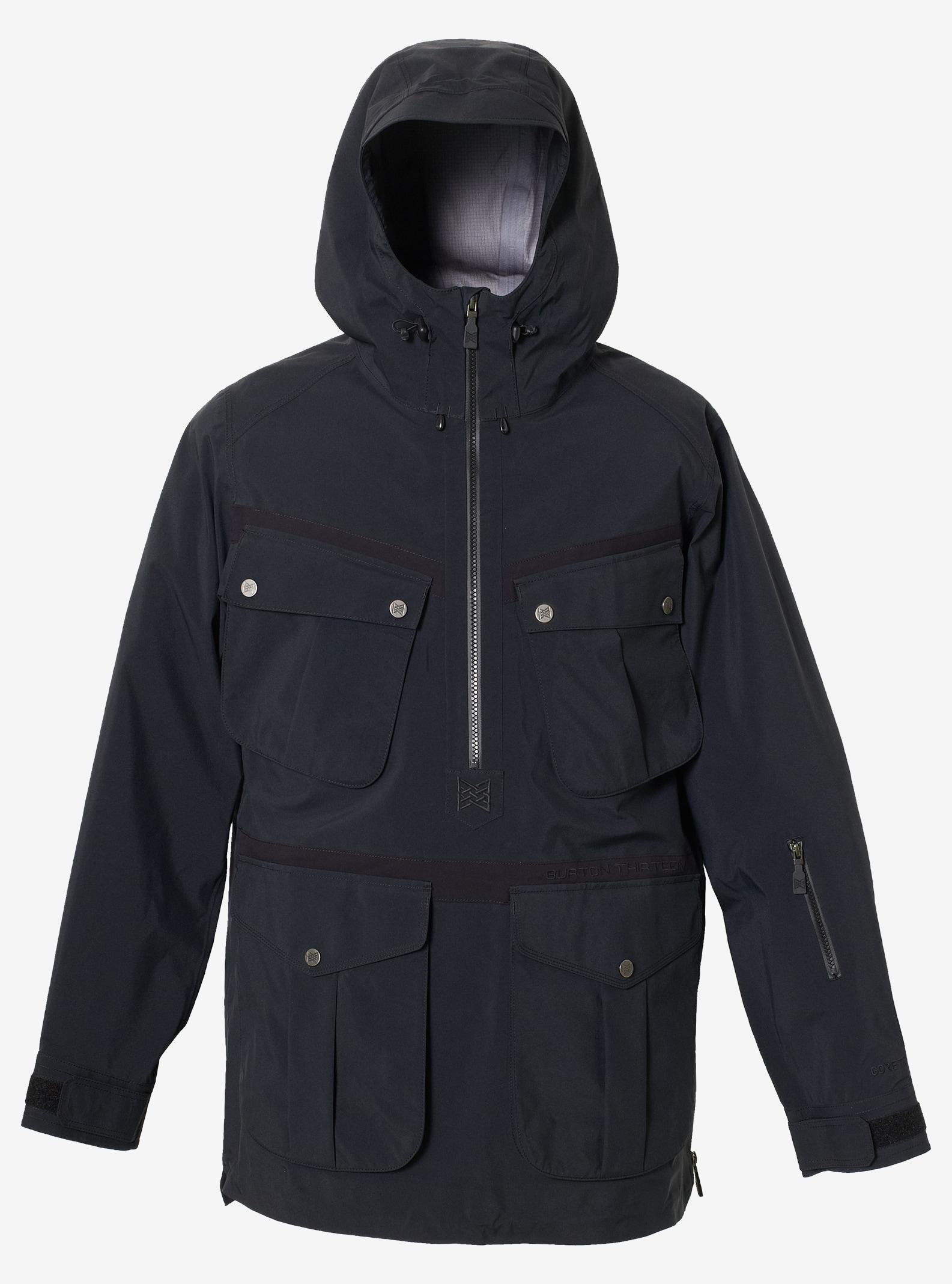 Men's Burton THIRTEEN Barkoff Jacket shown in True Black