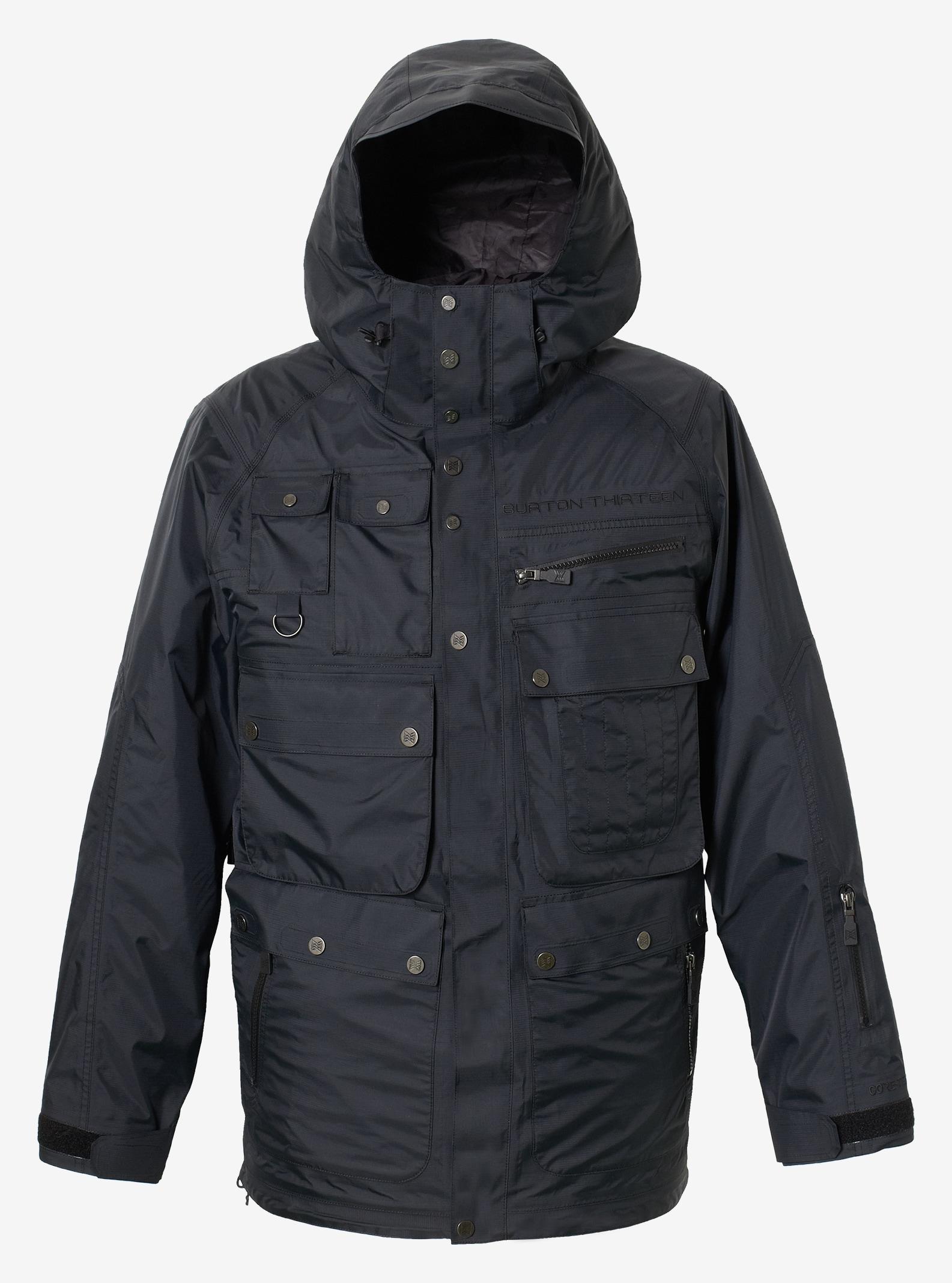 Men's Burton THIRTEEN Bardem Jacket shown in True Black