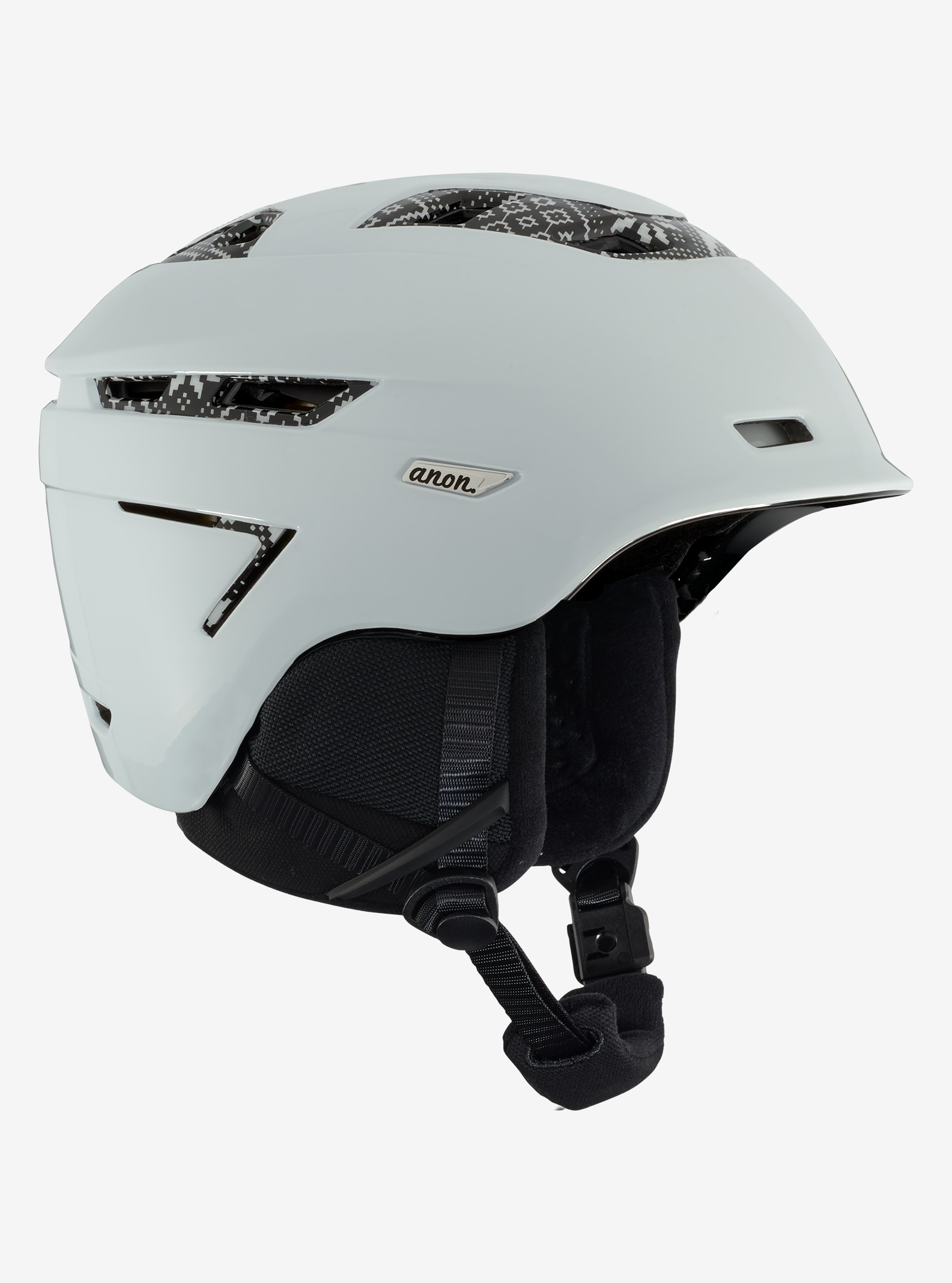 Women's Anon Omega Helmet shown in Apres White - MIPS