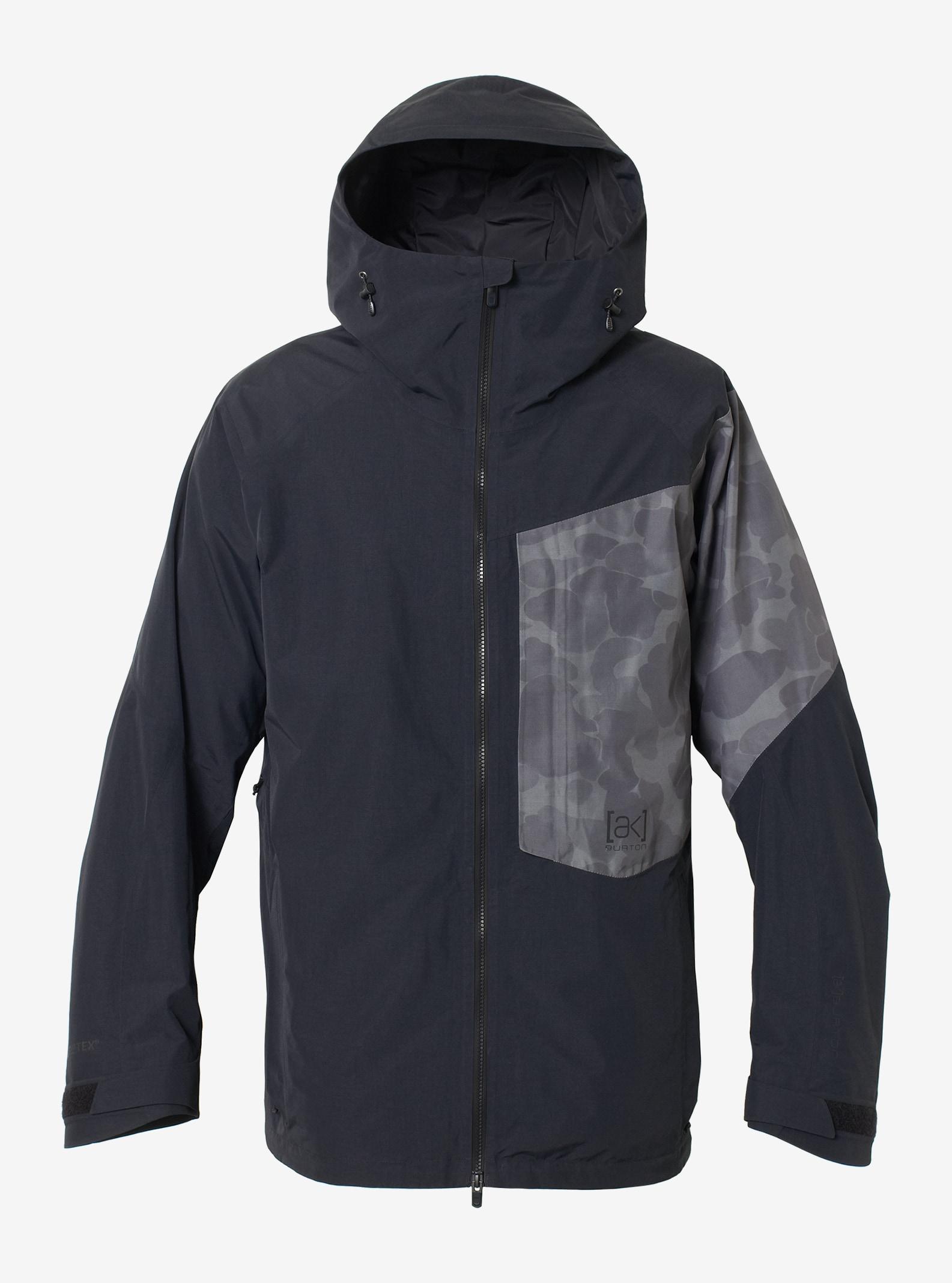 Men's Burton [ak] GORE-TEX® 2L Boom Jacket shown in True Black / Faded Kodiak Camo