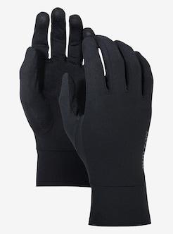 ae5ccee4 Burton Touchscreen Glove Liner shown in True Black