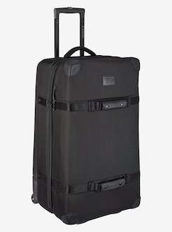 Burton Wheelie Sub Travel Bag Shown In True Black Ballistic