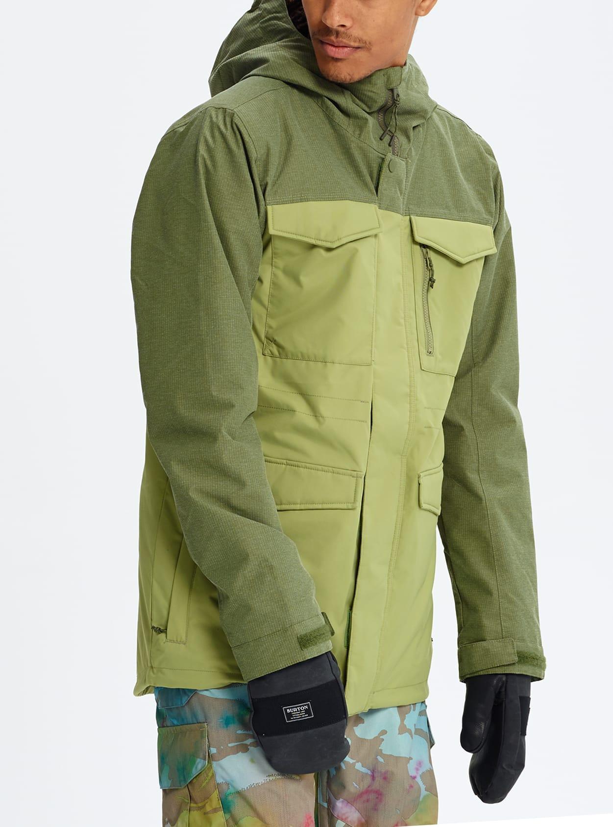 Burton Covert Jacket Men's Snowboard Jacket Bog Heather