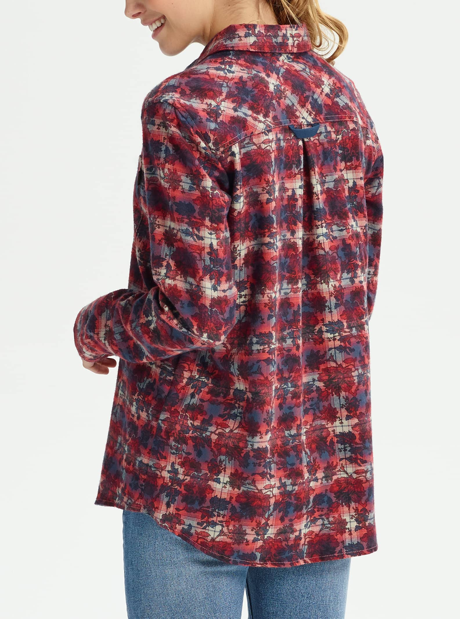 1bab34d5 Women's Burton Grace Long Sleeve Flannel   Burton.com Fall 2019