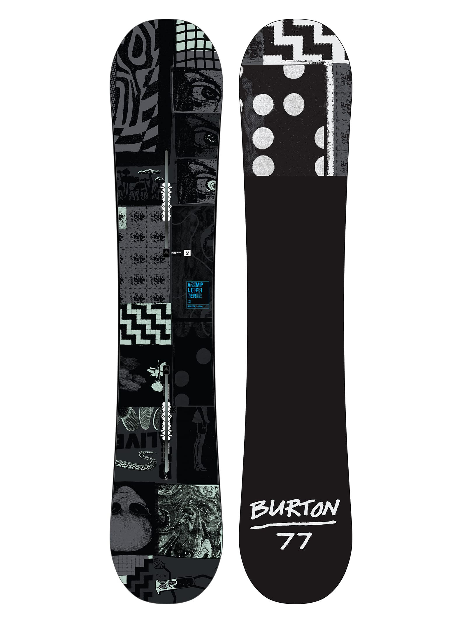 Burton Amplifier No Color Snowboard