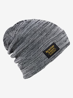 a46af9c6fb3 Burton Kactusbunch Tall Beanie shown in True Black   Stout White Marl