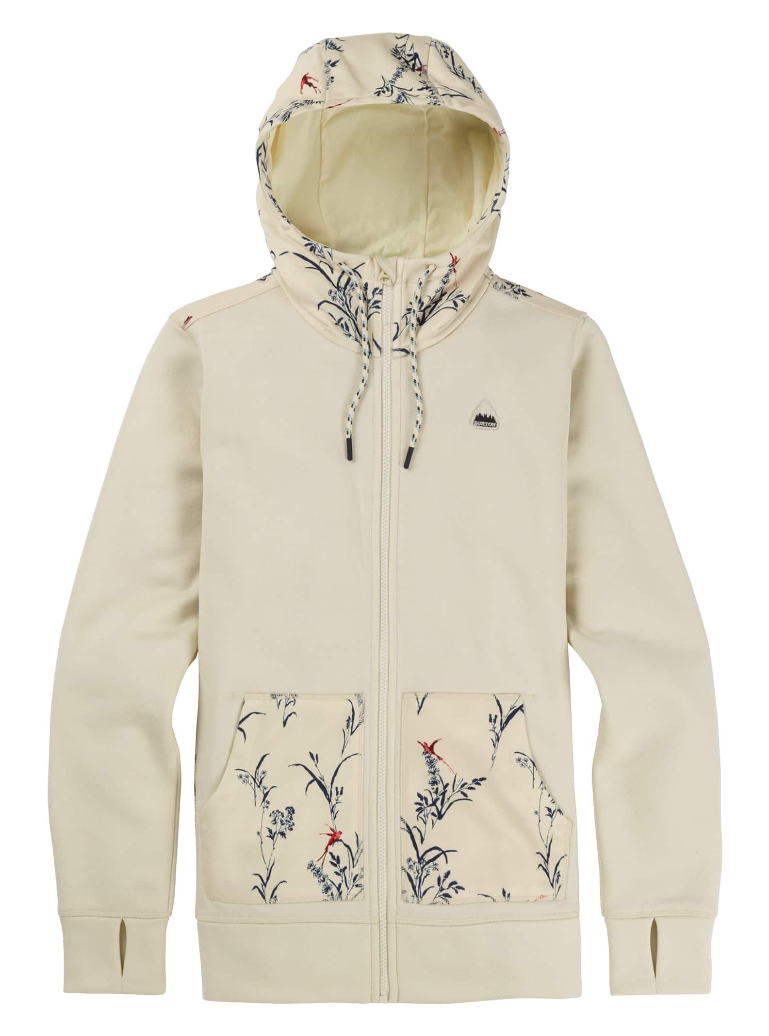 Burton Womens Oak Full-Zip Fleece