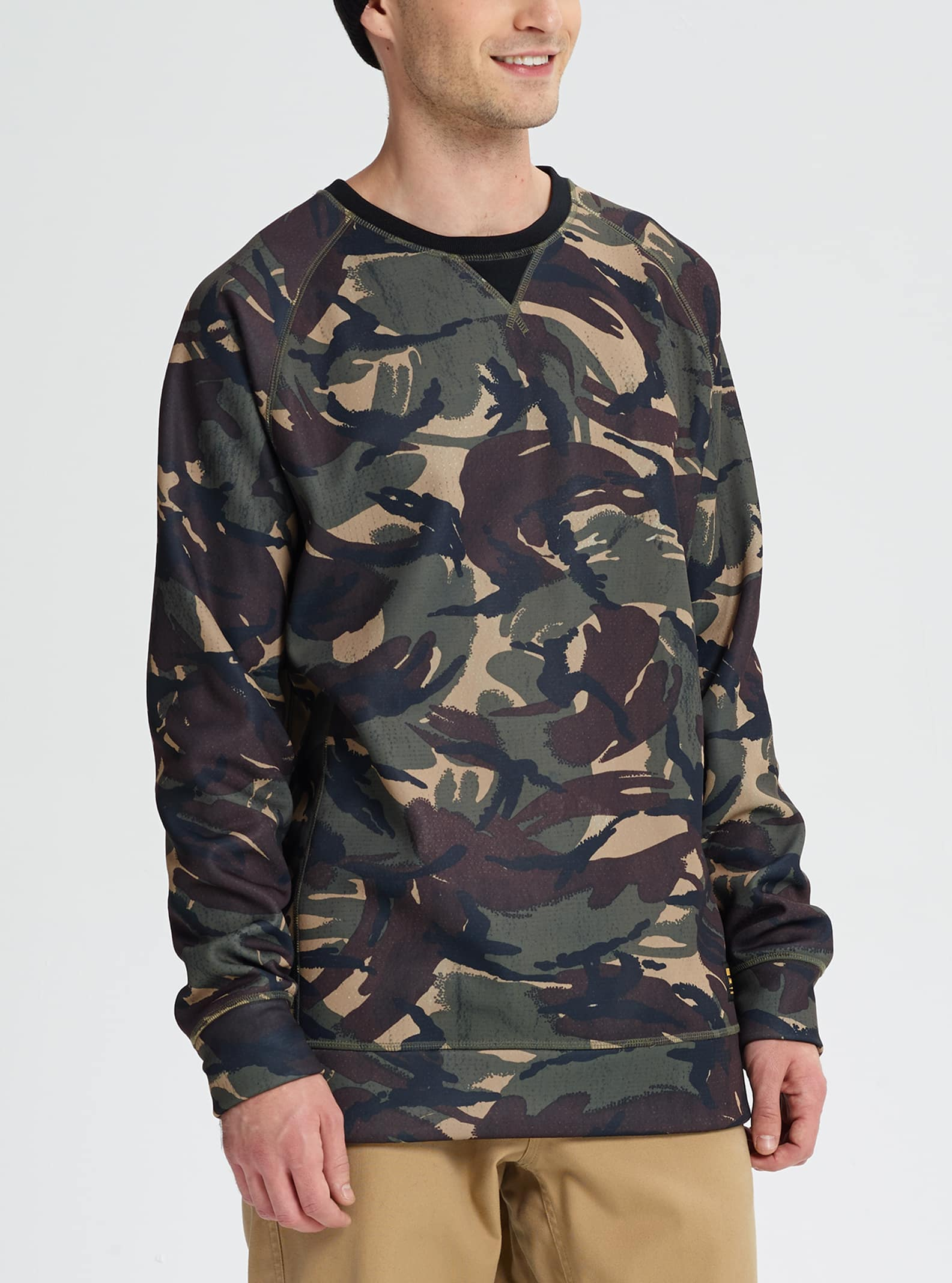 Men's Burton Crown Bonded Crew Sweatshirt | Fall