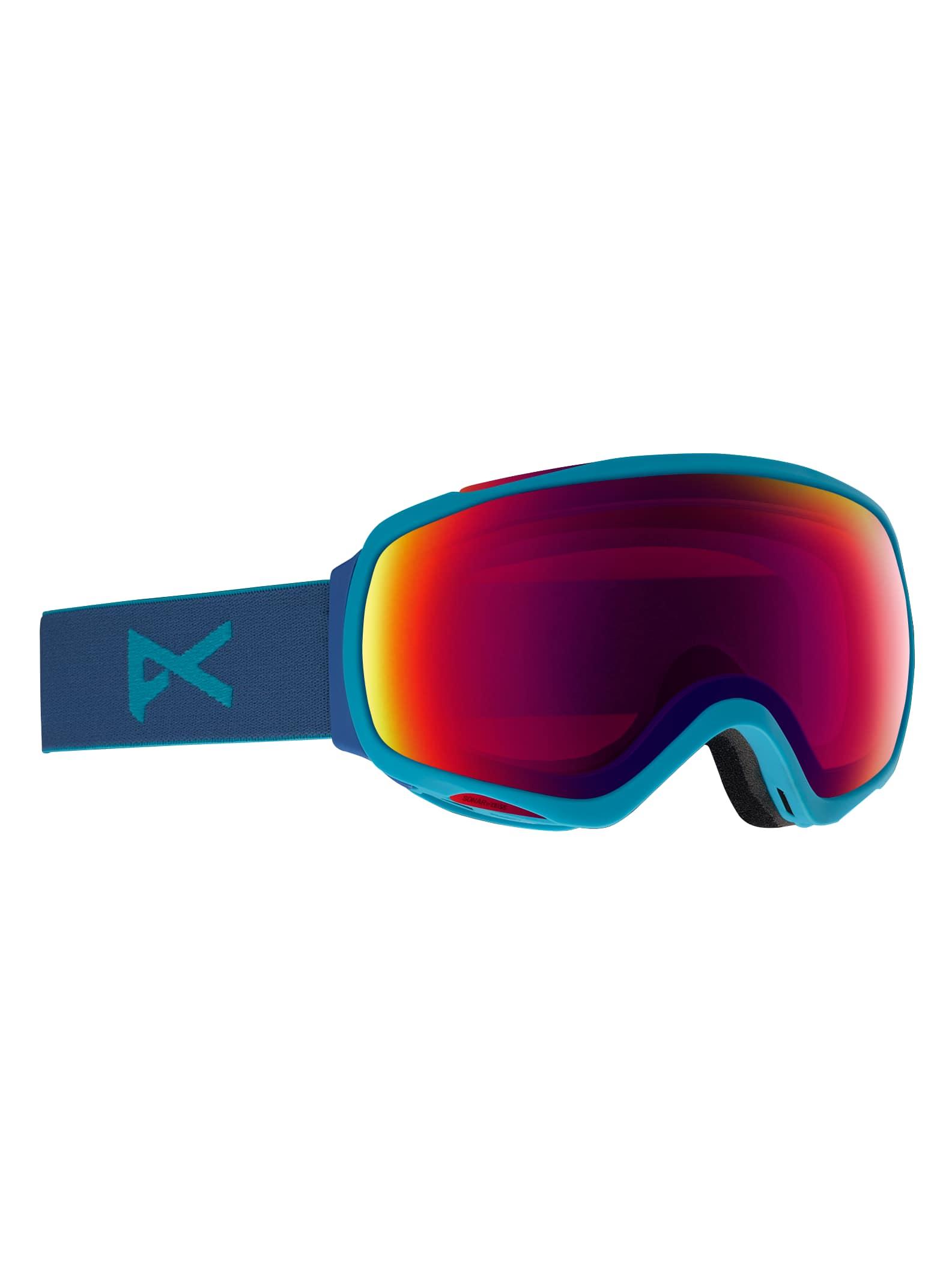 Anon Tempest skidglasögon för damer, Frame: Blue, Lens: SONAR Infrared Blue by Zeiss
