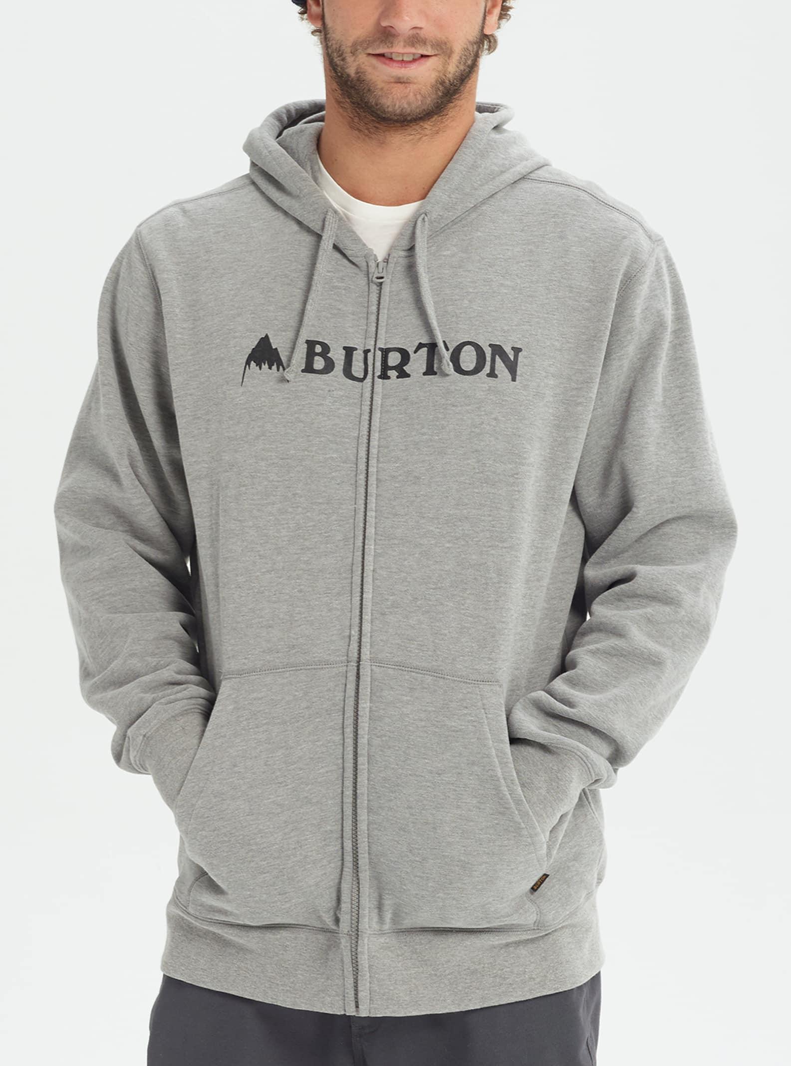 Men's Burton Horizontal Mountain Full Zip Hoodie