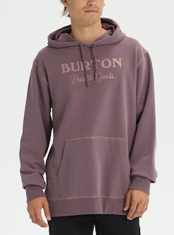 6a02dcd24 Men's Burton Durable Goods Pullover Hoodie shown in Dark Sparrow