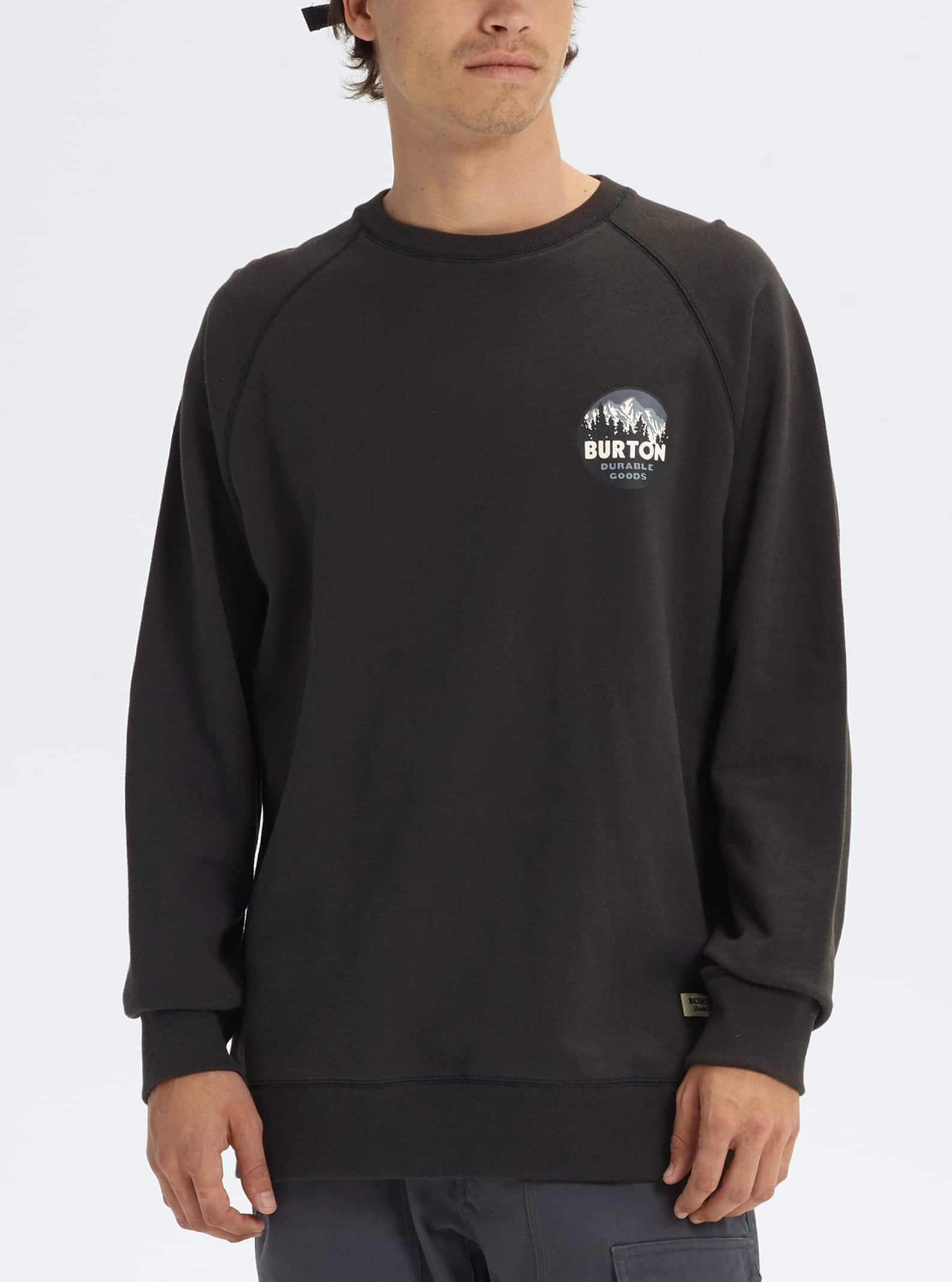 Pullover, Strickjacken & Sweatshirts Burton Herren Sweater Taproot Organic Crew Sweater