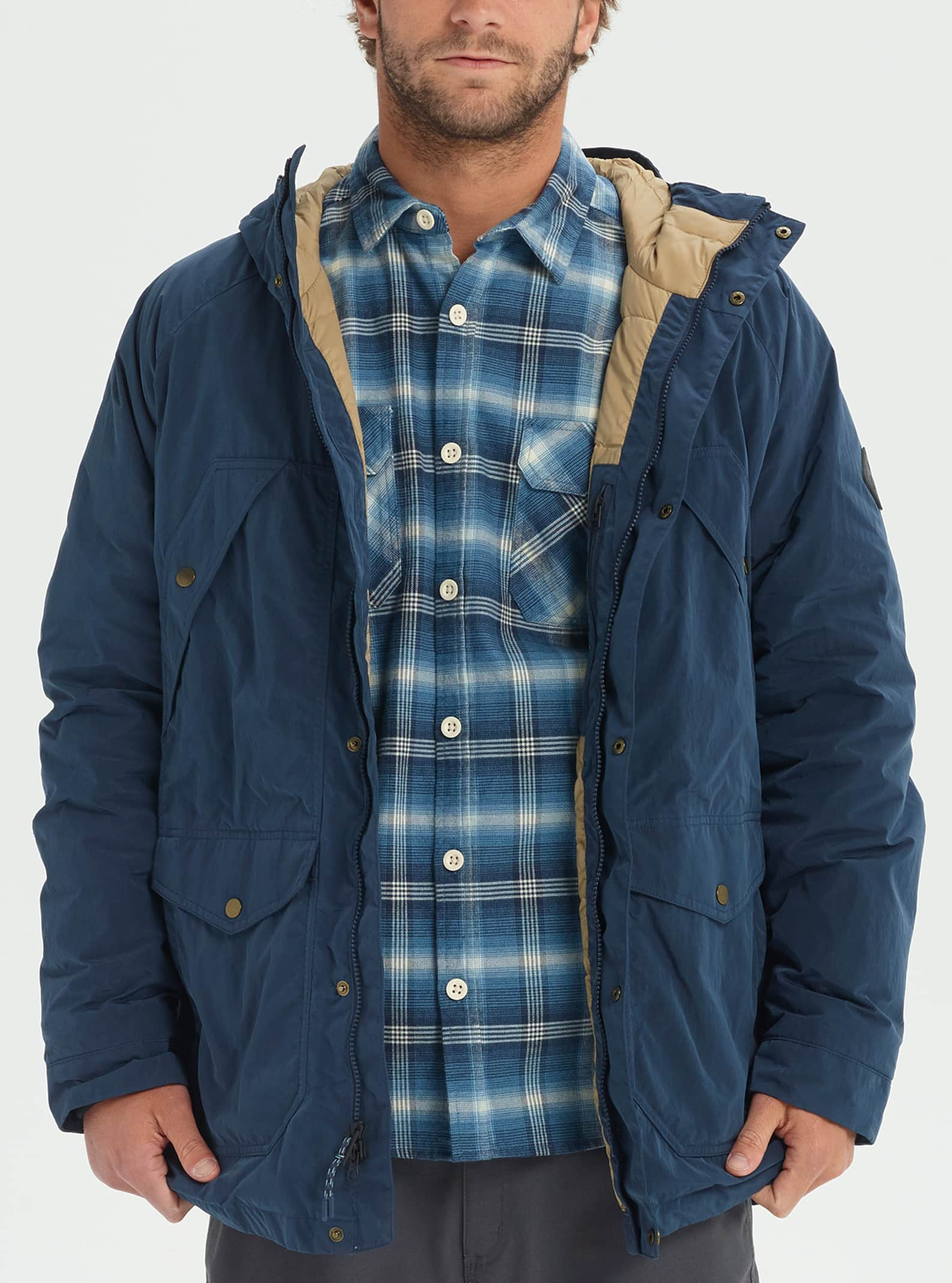 Men's Burton Newfound Down Trench Jacket