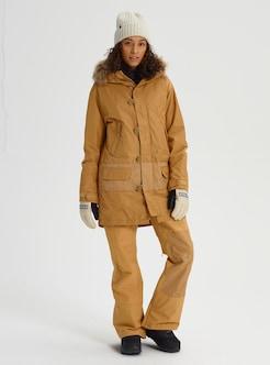 a769286942fe Women's Burton Shadowlight Parka Jacket shown in Camel
