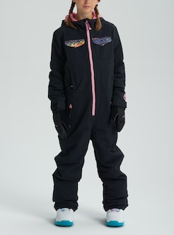 79f0f8e54 Girls' Burton Game Piece One Piece shown in True Black / Technicat Dream