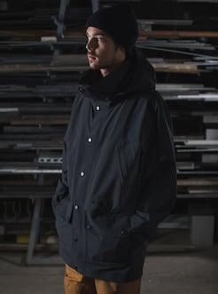 40fd78c4a1 Men's Burton x Carhartt WIP Wakeby 3L Parka Jacket shown in True Black