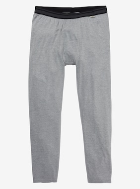 Men's Burton Midweight Base Layer Pant shown in Monument Heather