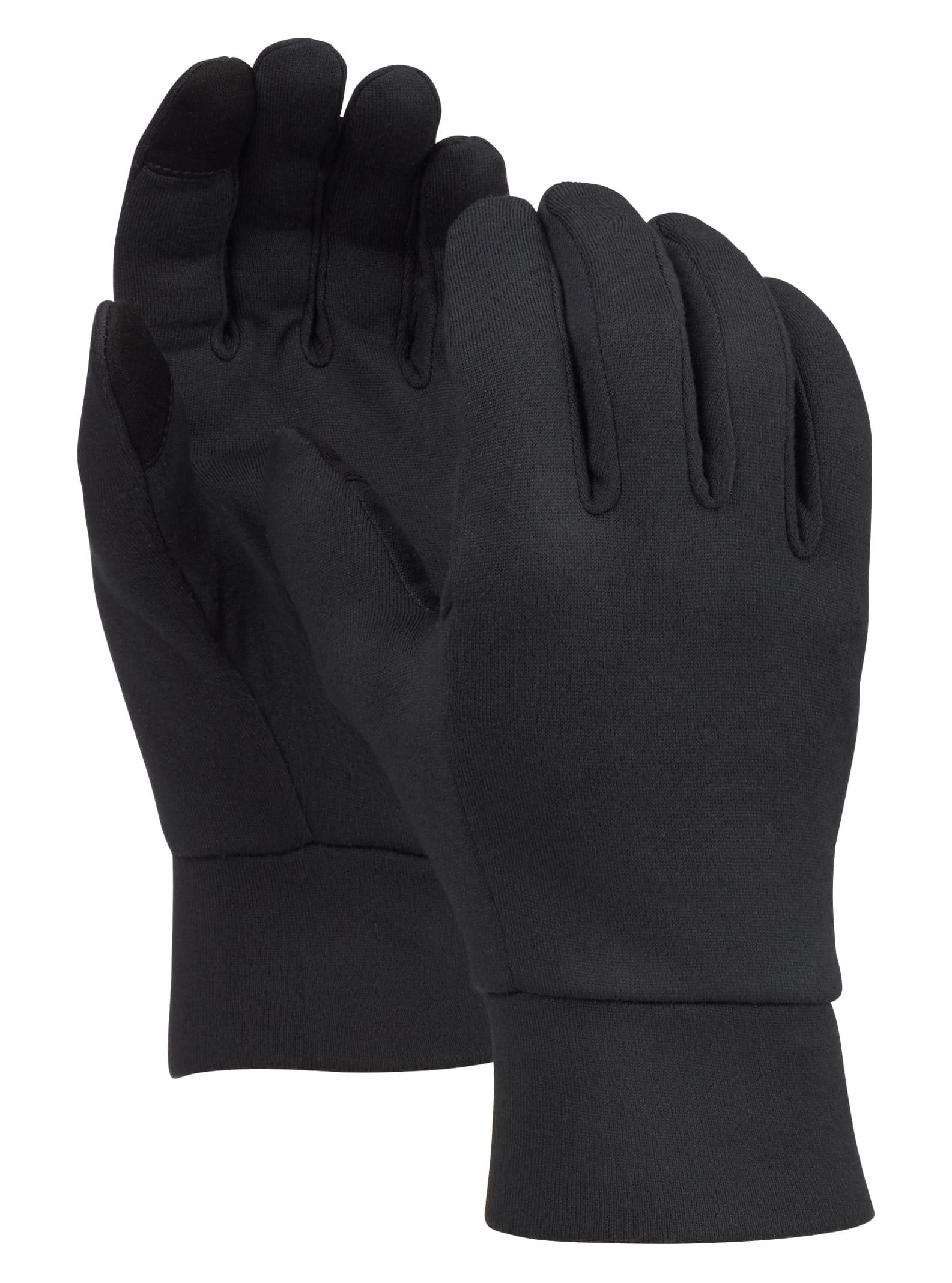 Ask Mens Black High Performance Gloves Winter Ski Snowboard Mittens