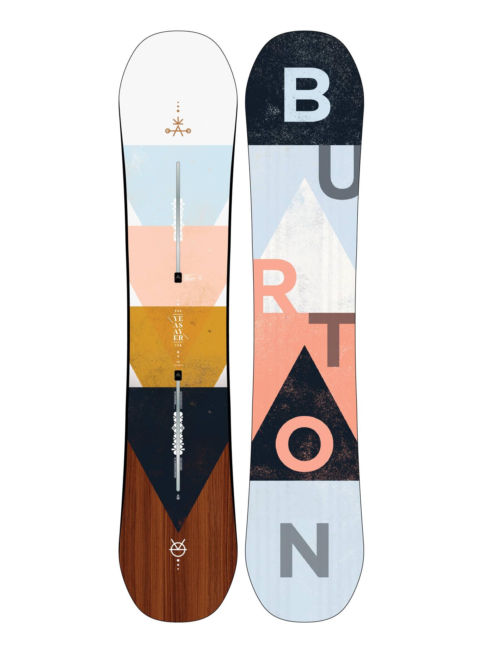 Women's Burton Yeasayer Flying V Snowboard | Winter 2020